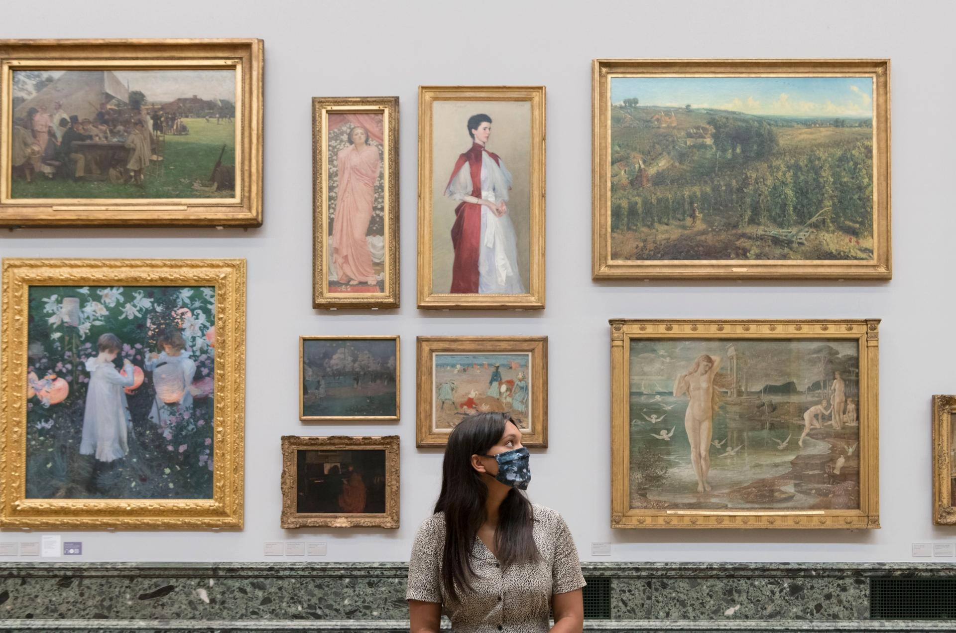 An installation view of Tate Britain's Walk through British Art collection display Courtesy of Tate photography (Oli Cowling)
