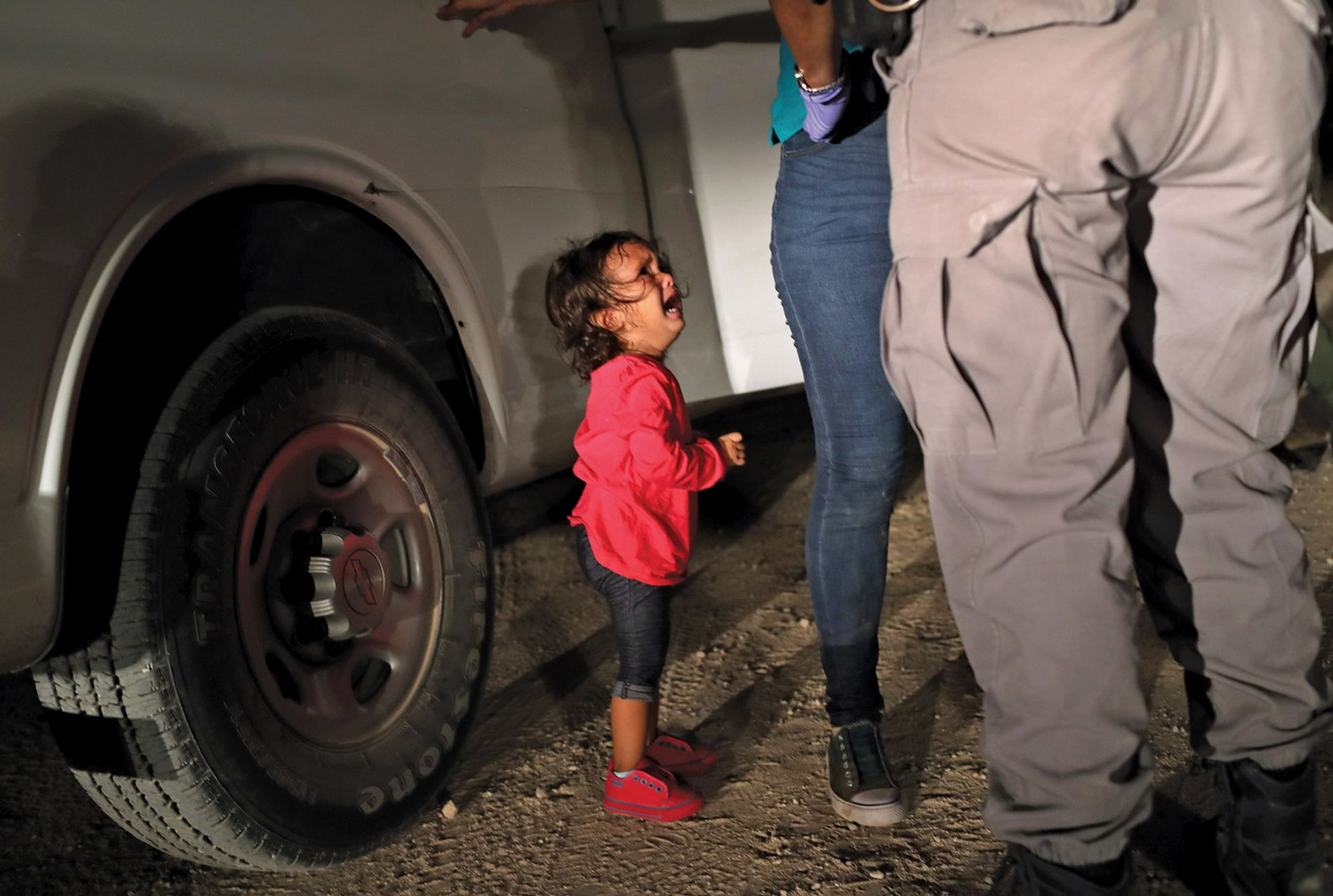 John Moore's shocking picture of two-year-old Yanela Hernandez John Moore/Getty Images, 2018