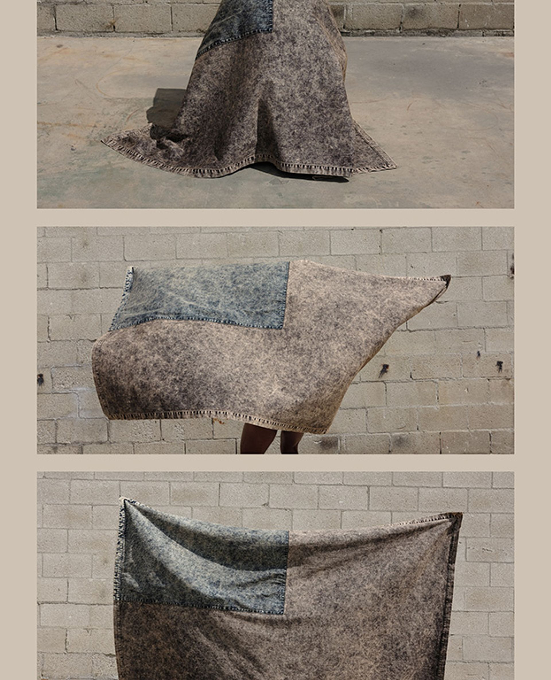 Veil Flag (2020) by Sterling Ruby Studio Photo: Melanie Schiff; Courtesy of Sterling Ruby Studio