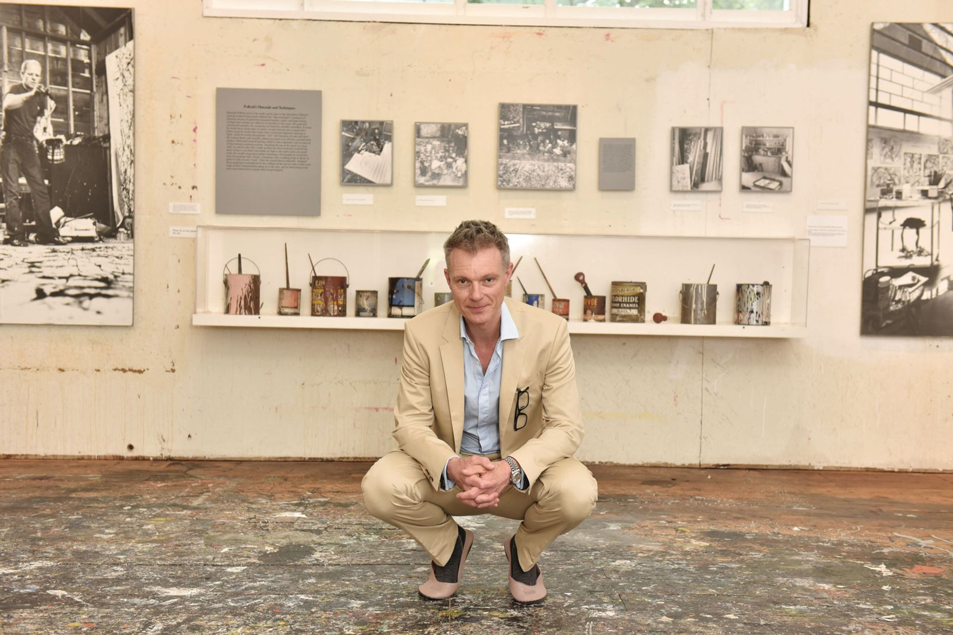 Before serving as the Royal Academy's artistic director, Tim Marlow, who is also a broadcaster, spent a decade at White Cube © Jared Siskin/Patrick McMullan via Getty Images