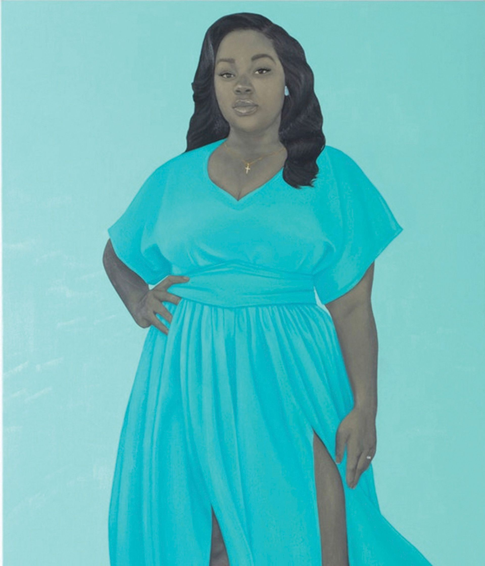 Amy Sherald, Breonna Taylor (2020) © Amy Sherald; courtesy of the artist and Hauser & Wirth