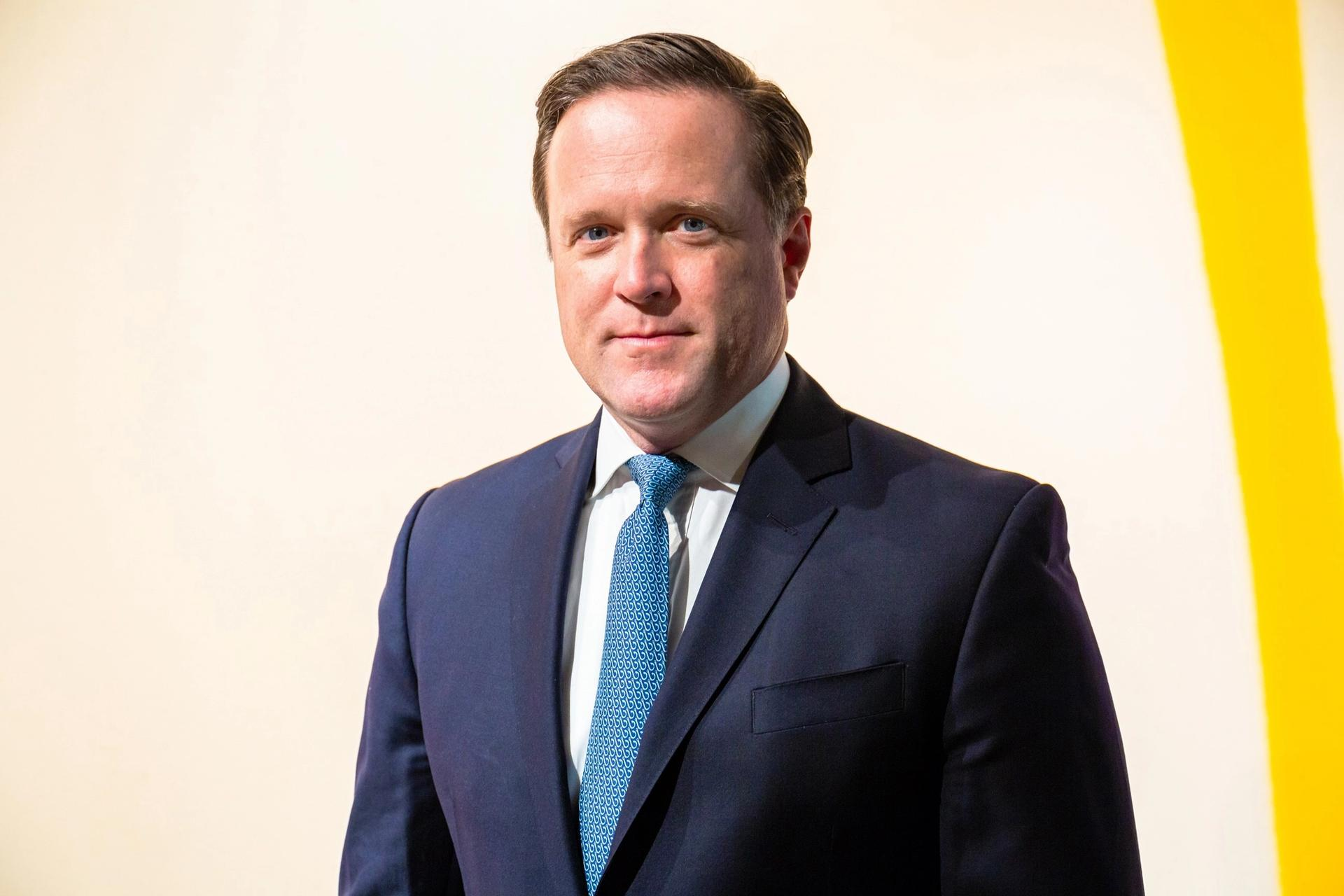 Charles F. Stewart, the new chief executive of Sotheby's Courtesy Sotheby's