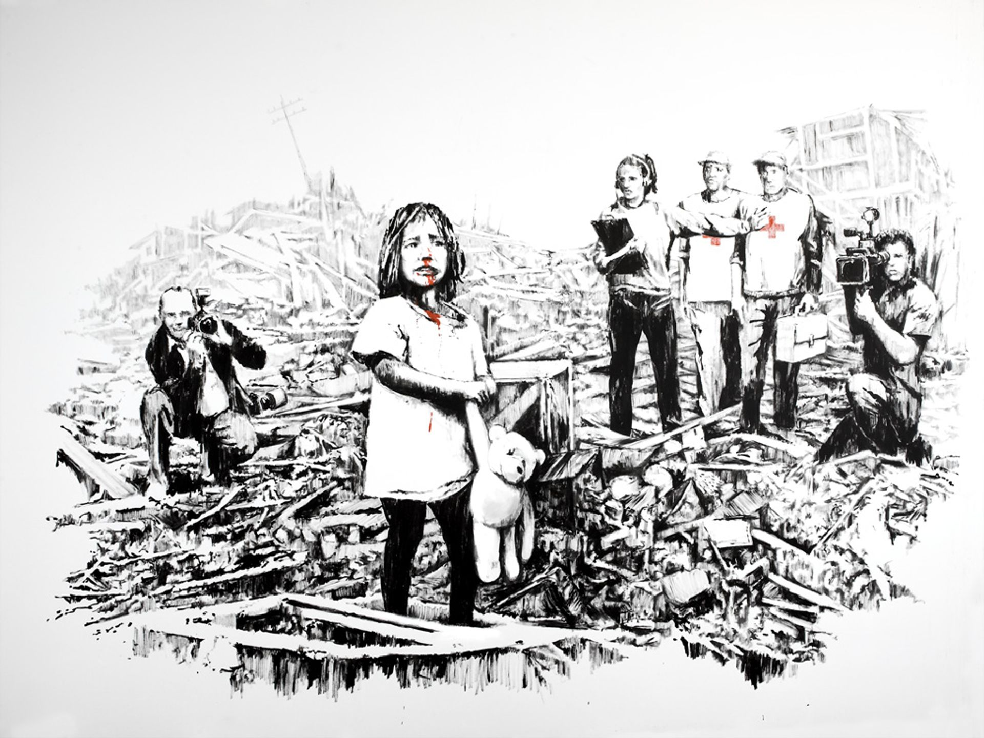 Banksy's Media at War Banksy.co.uk