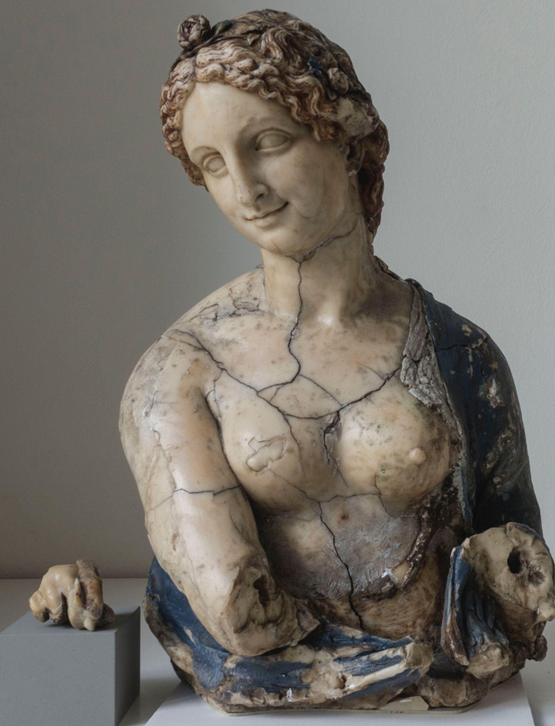 The bust of Flora may not be Leonardo after all Image: Stiftung Preußischer Kulturbesitz © SMB-SPK