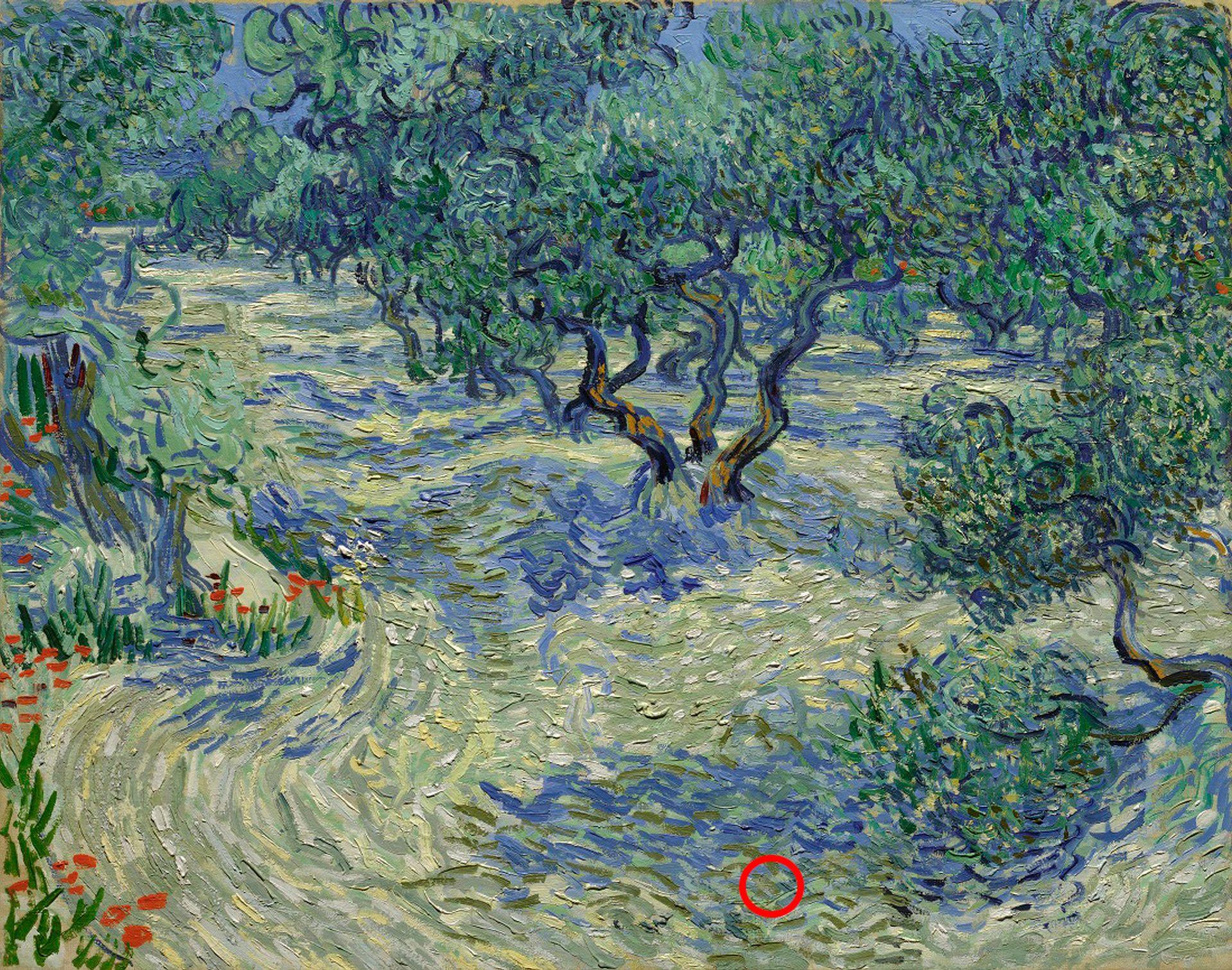 Vincent van Gogh's Olive Trees (June-September 1889) Courtesy of the Nelson-Atkins Museum of Art, Kansas City, Missouri