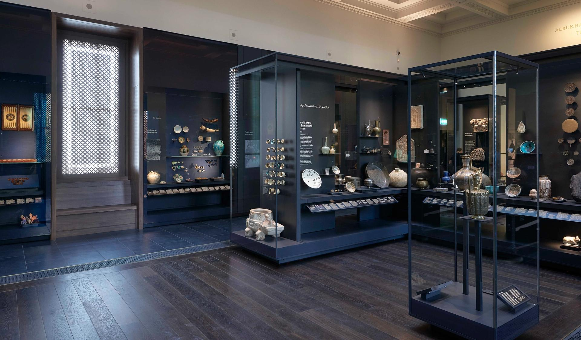 The Albukhary Foundation Gallery of the Islamic World at the British Museum © Trustees of the British Museum