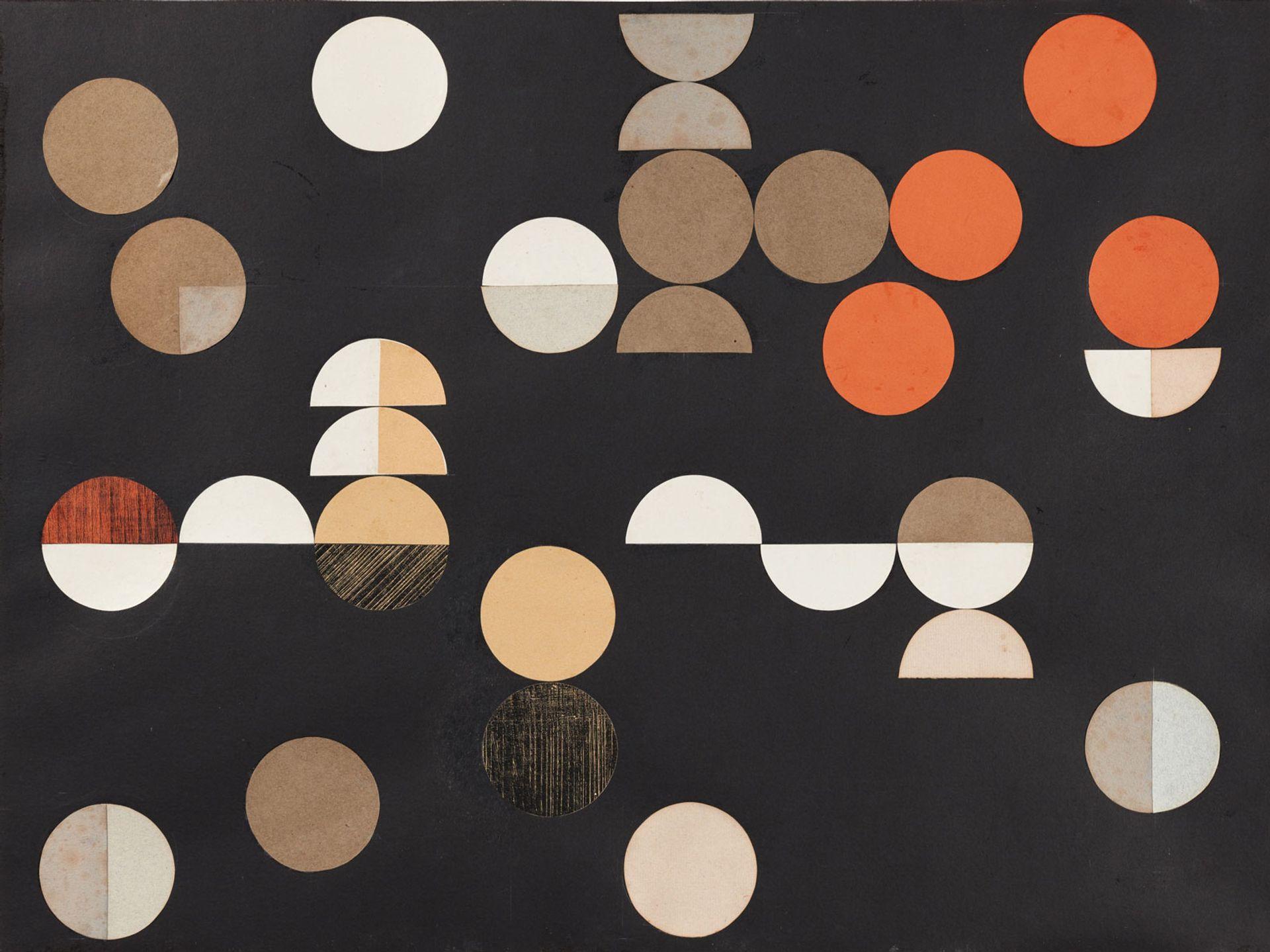 Sophie Taeuber-Arp's Composition à cercles  et demi-cercles (1938) Arp Museum Bahnhof Rolandseck