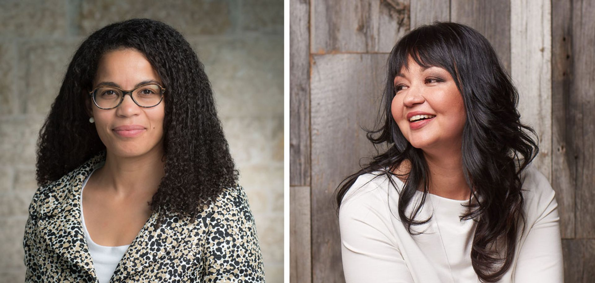 Angela Cassie, left, is the new vice-president of strategic transformation and inclusion, while Tania Lafrenière is the new senior vice-president of people, culture and belonging