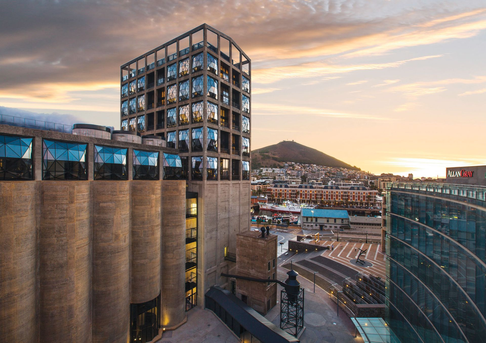 The $35m Zeitz Museum of Contemporary Art Africa opened in Cape Town in September 2017 © Wianelle Photography
