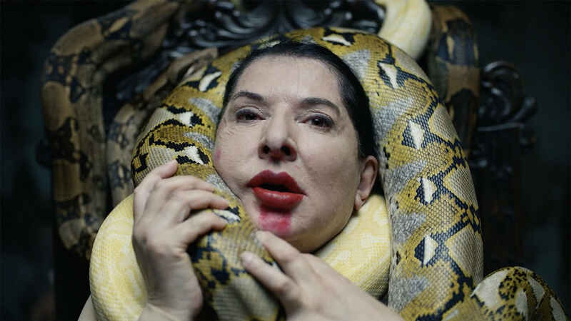 Still from Marina Abramovic's Seven Deaths (2021) Courtesy of the artist and Lisson Gallery