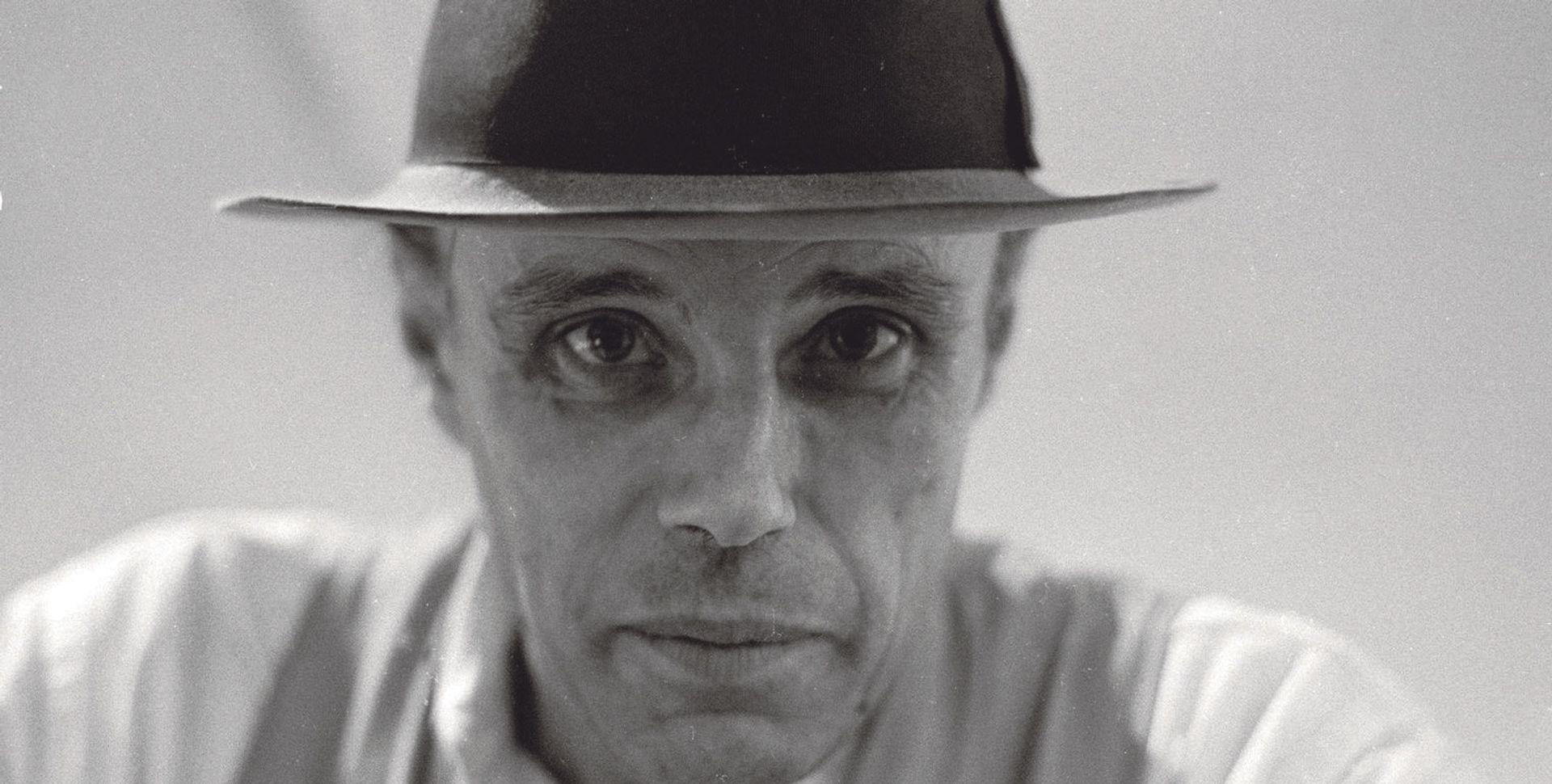 Joseph Beuys in 1975 Photo: Caroline Tisdall