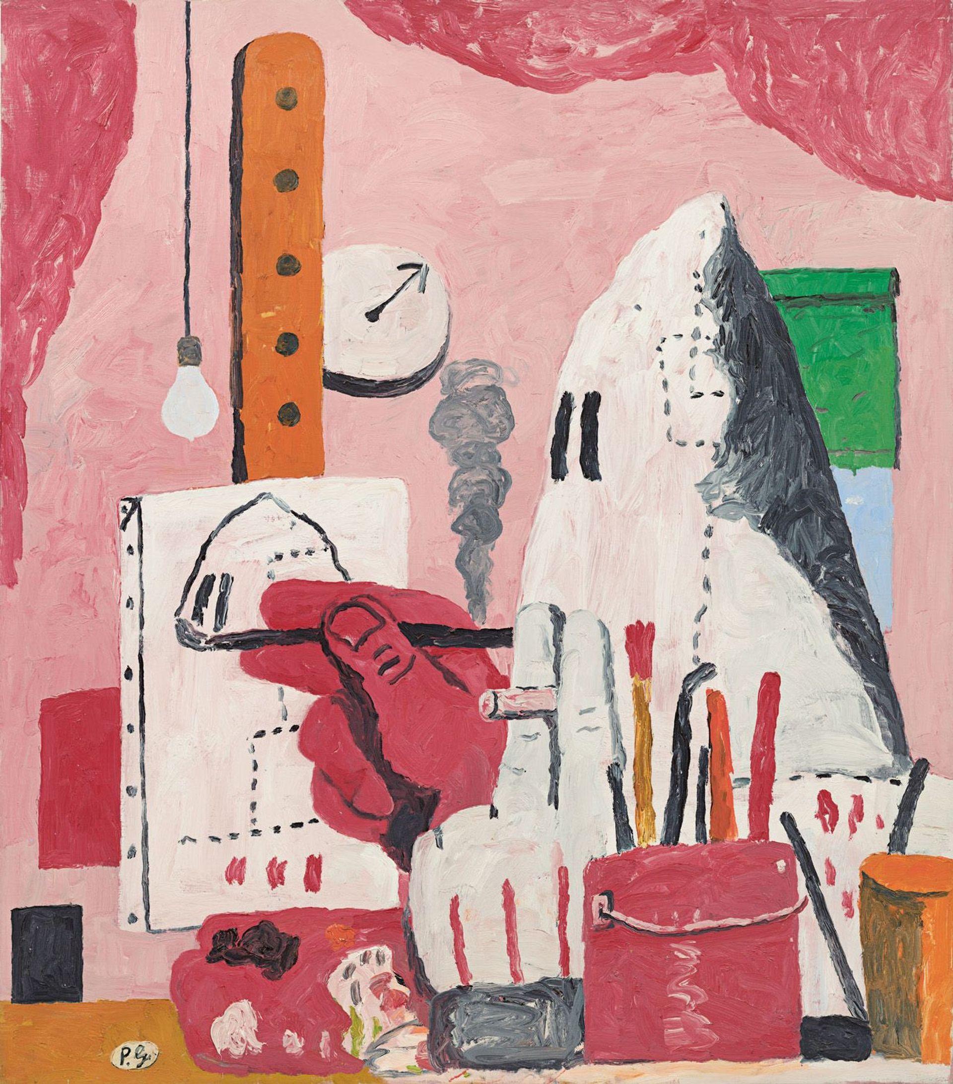 Philip Guston's The Studio (1969) © The Estate of Philip Guston