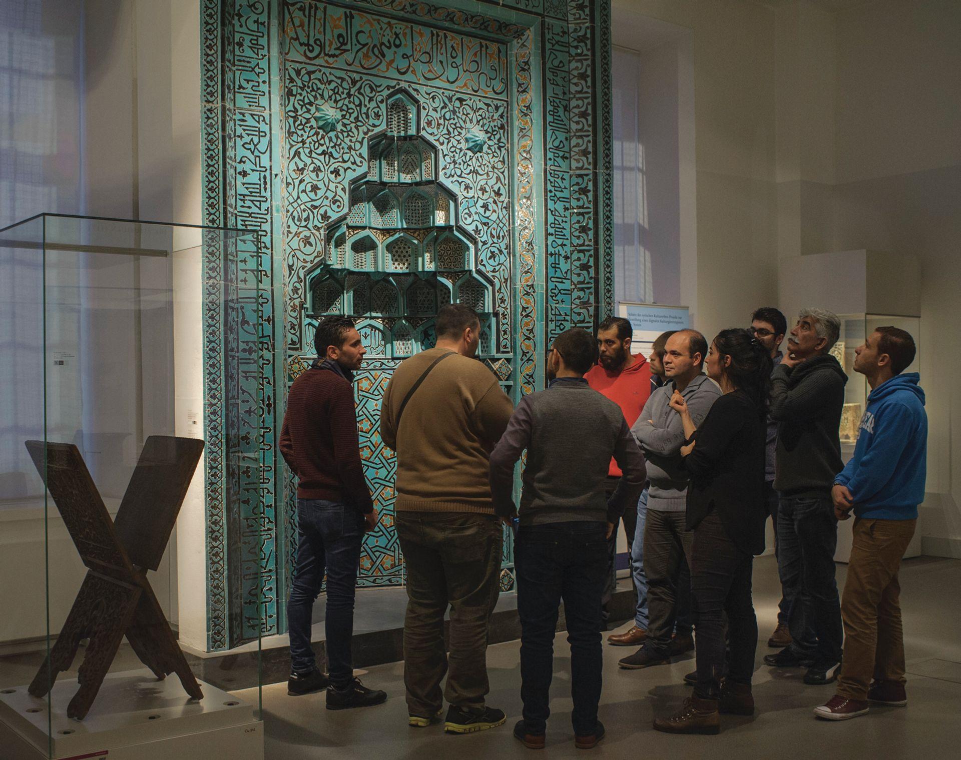 Multaka guided tour at the Museum of Islamic Art in Berlin Photo: AR Laub; © Staatliche Museen Berlin, Museum für Islamische Kunst