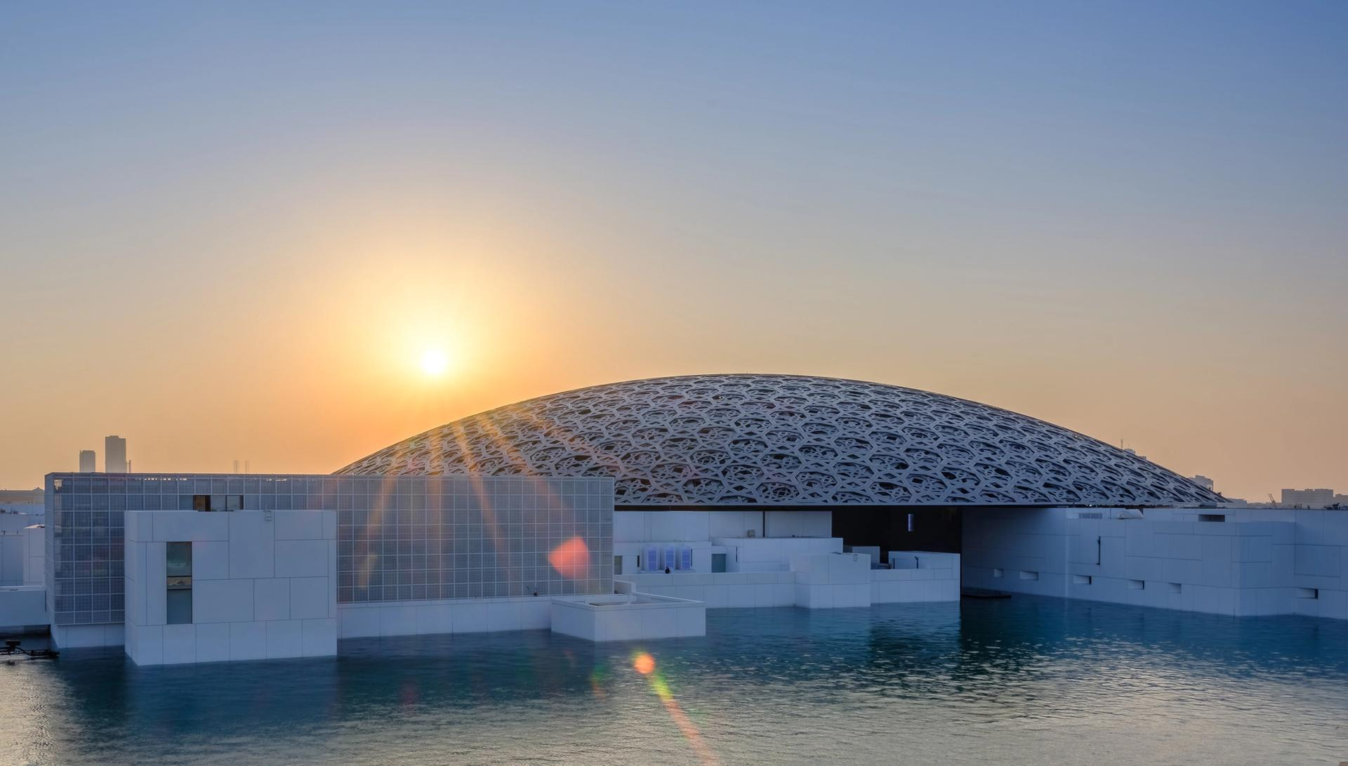 The talks at the Louvre Abu Dhabi symposium were centred around the three broad themes of museum collections, buildings and people Courtesy of Louvre Abu Dhabi - Department of Culture and Tourism Abu Dhabi