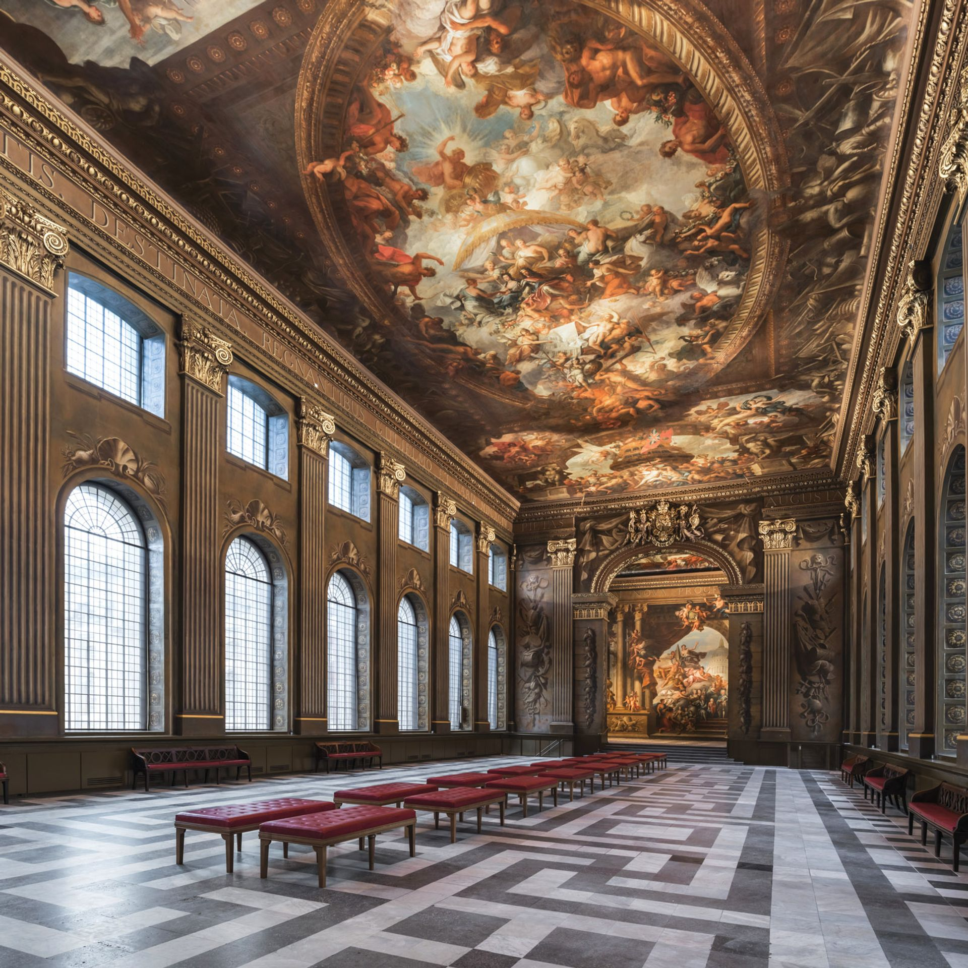 Lie back and think of Nelson, whose body lay in state in the Painted Hall after his victory and death at the Battle of Trafalgar Photo: Nikhilesh Haval