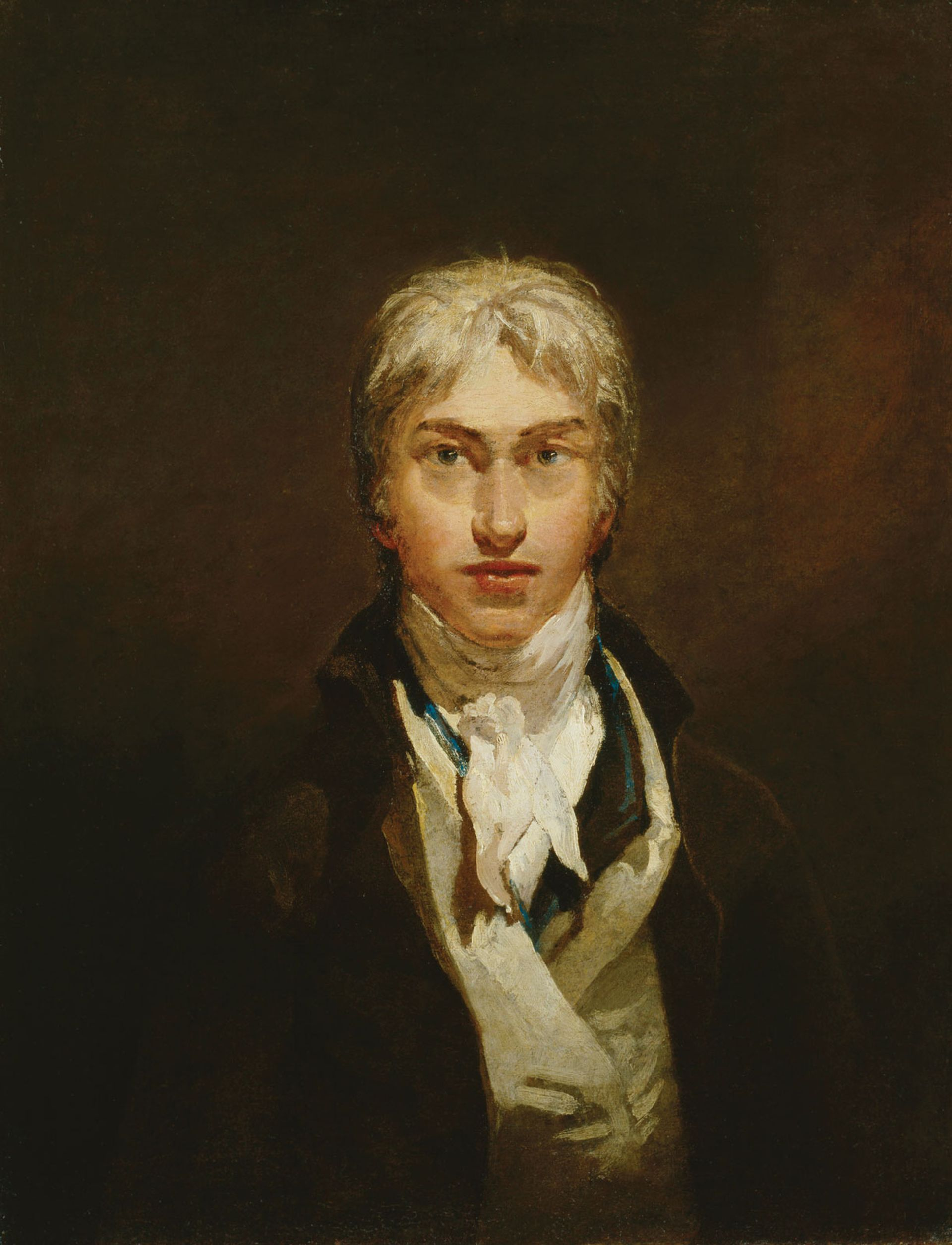 J.M.W. Turner's  Self-Portrait (around 1799) © Tate. Accepted by the nation as part of the Turner Bequest 1856