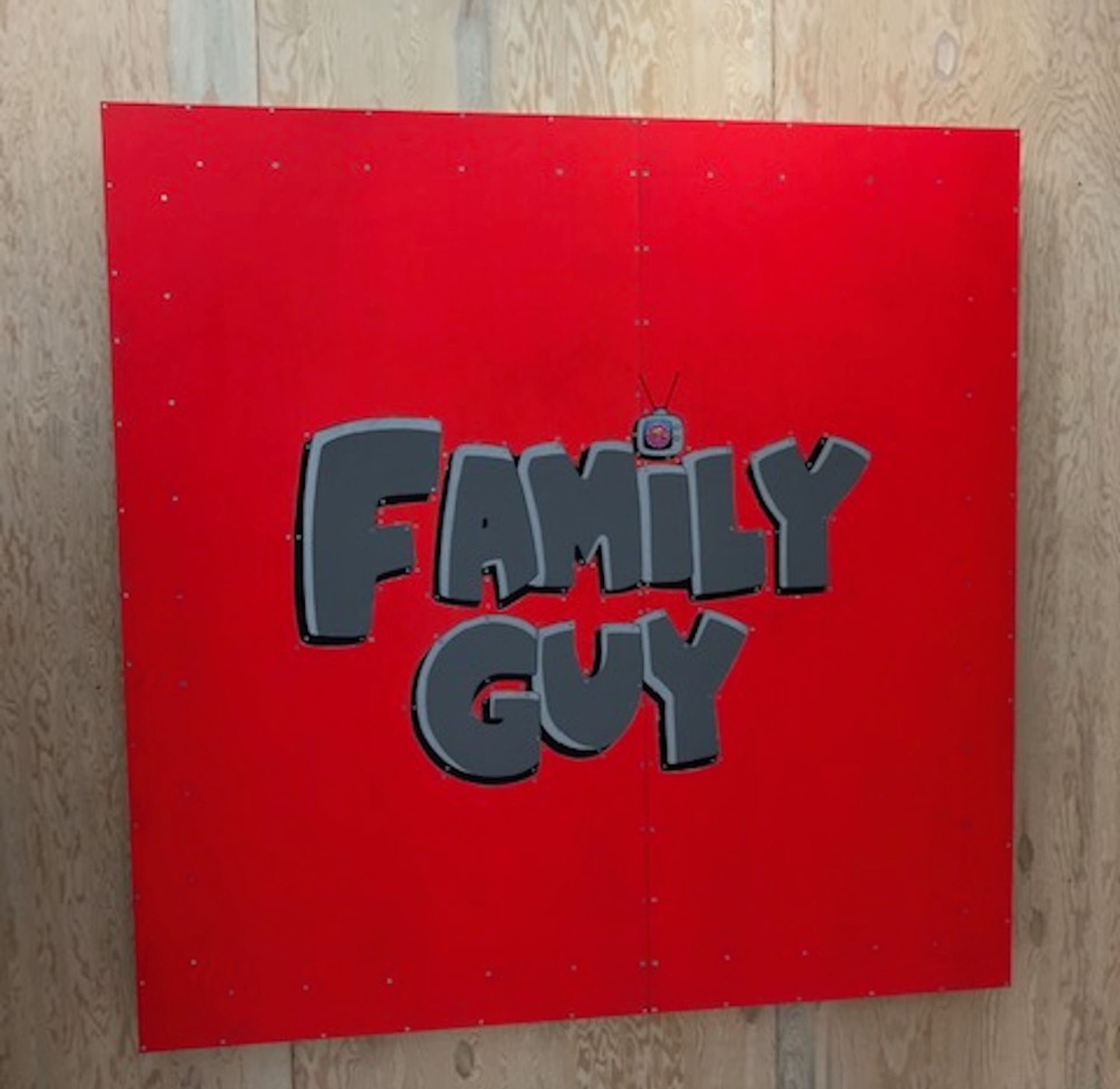 Tom Sachs has used marquetry to pay homage to sitcom Family Guy Gareth Harris