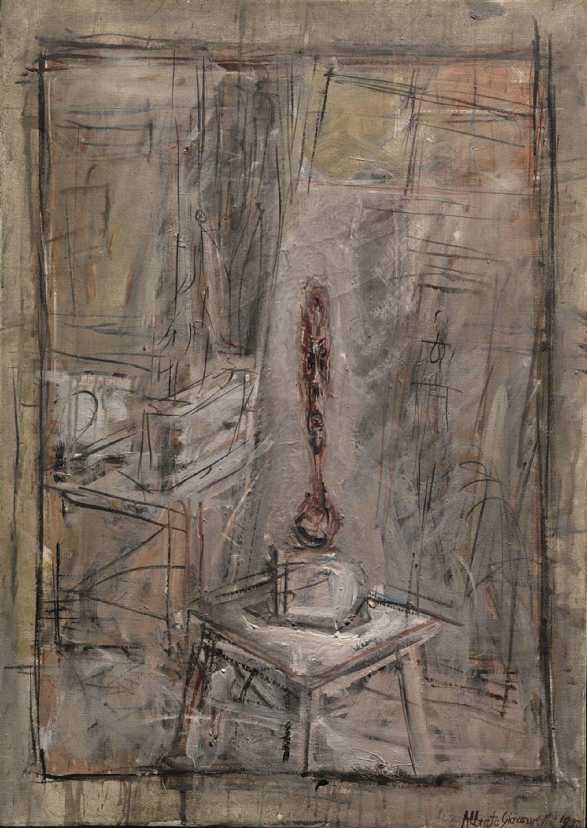 Alberto Giacometti, Atelier I (1950) courtesy of Thomas Gibson Fine Art Ltd