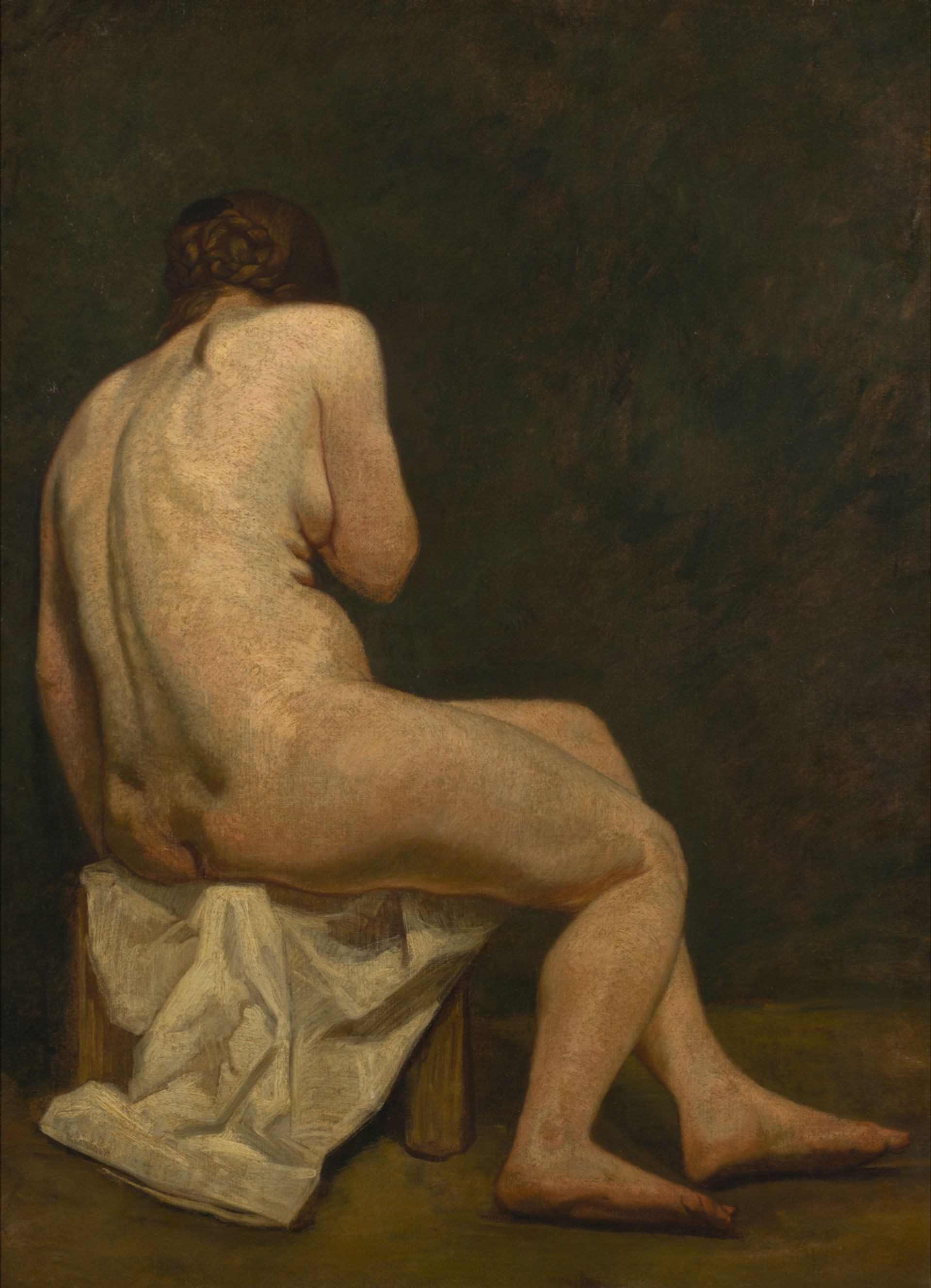 John Russell, Female Nude (about 1886), oil on canvas, 120cm by 92cm, Van Gogh Museum, Amsterdam (Vincent van Gogh Foundation) Courtesy of the Van Gogh Museum, Amsterdam (Vincent van Gogh Foundation)