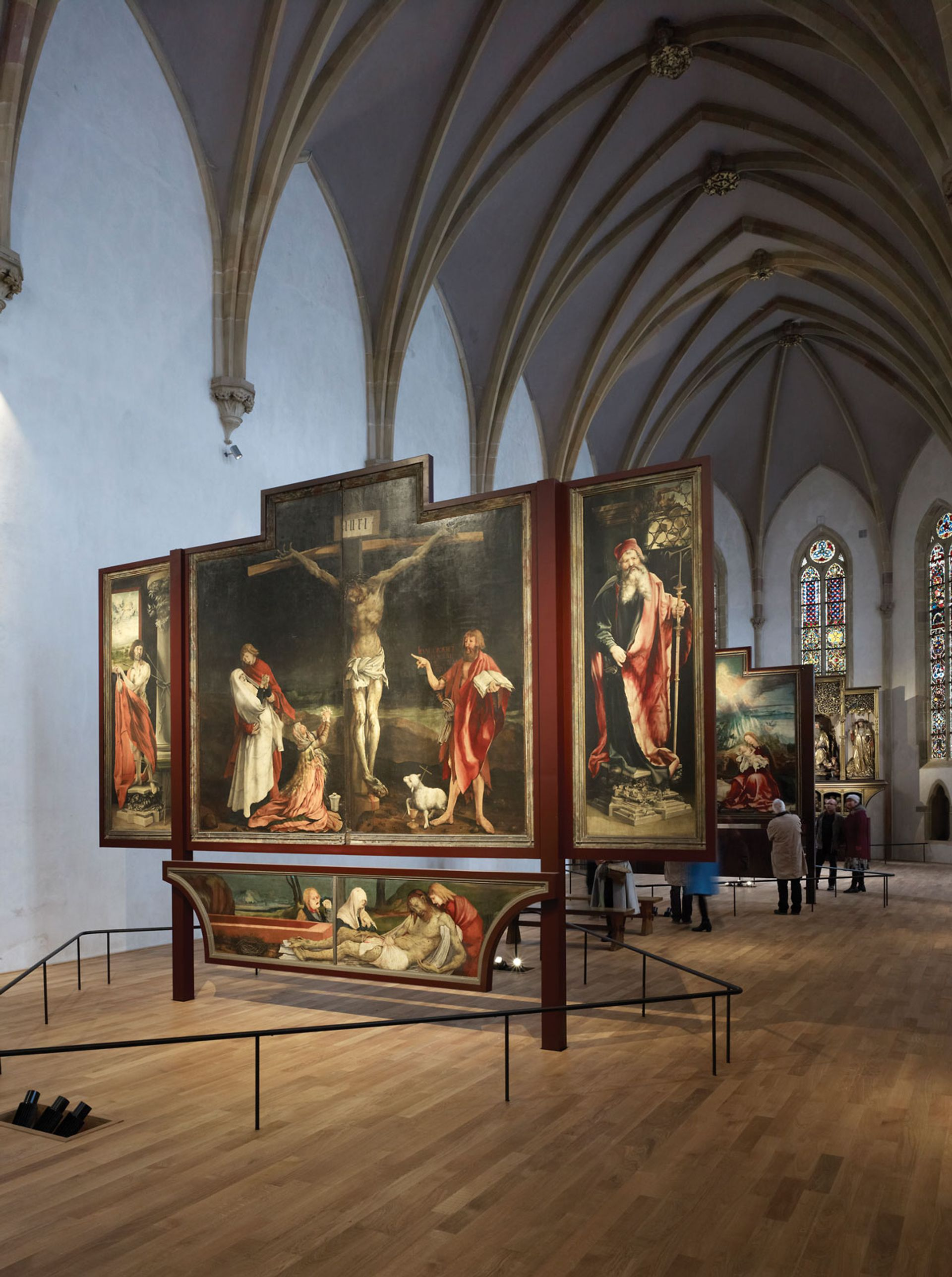 The painted panels will be restored at Colmar's Unterlinden Museum Photo: Ruedi Walti; © Musée Unterlinden