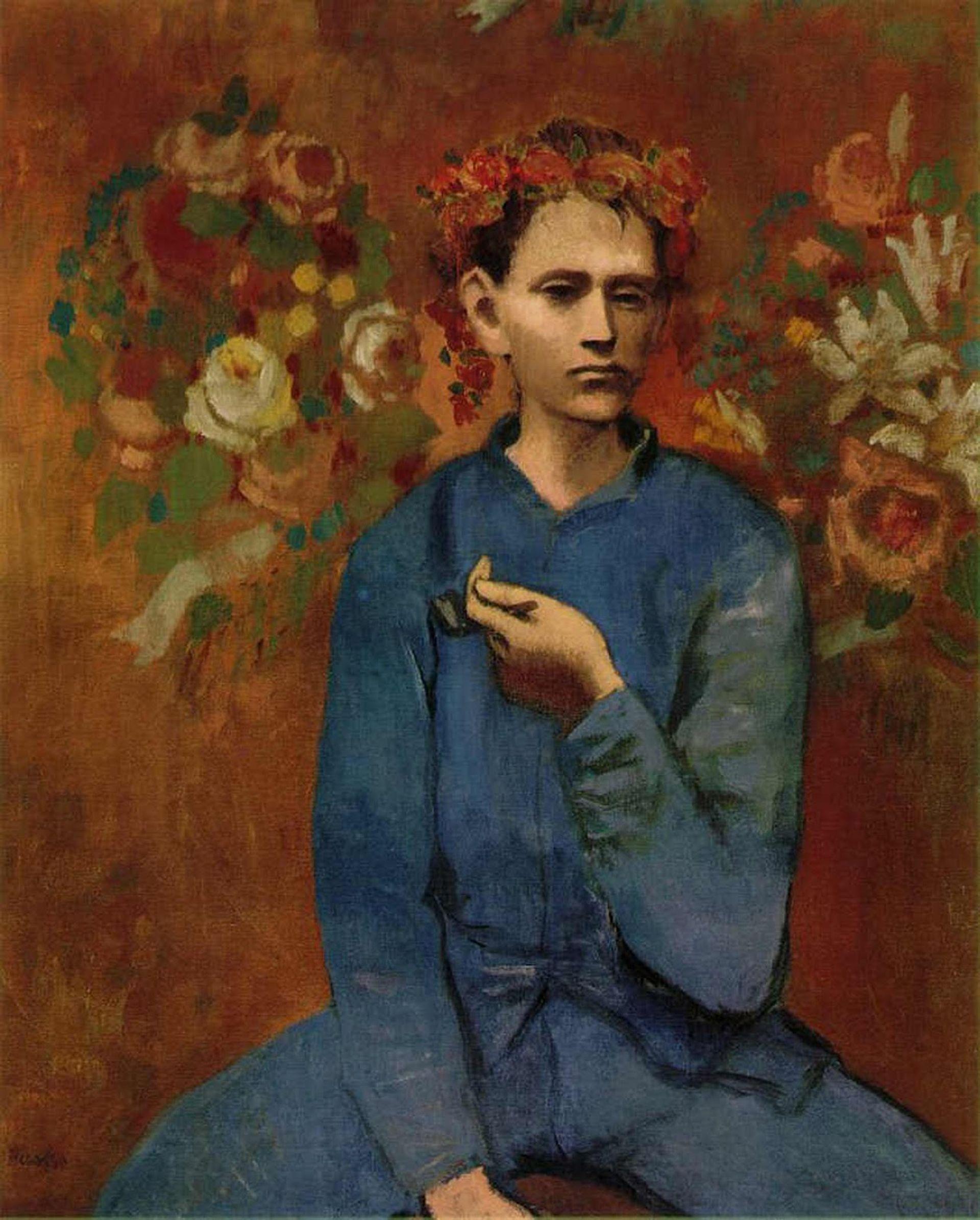 Pablo Picasso, Garçon à la Pipe (Boy with a Pipe) (1905)