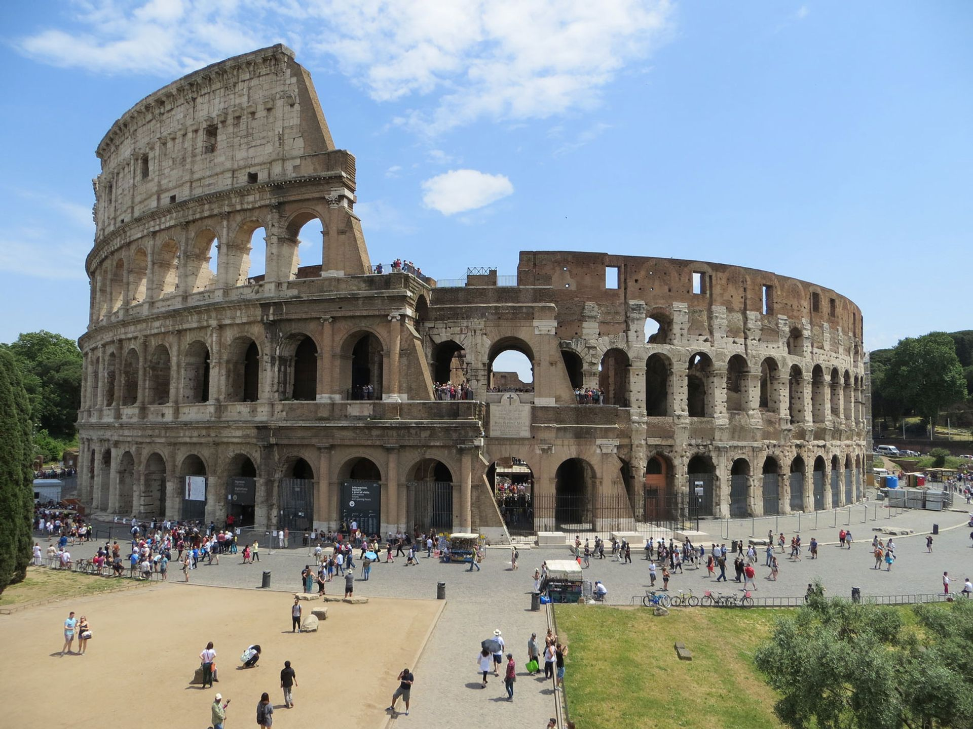 Visiting the Colosseum will no longer be free on the first Sunday of the month Flickr/alljengi Follow