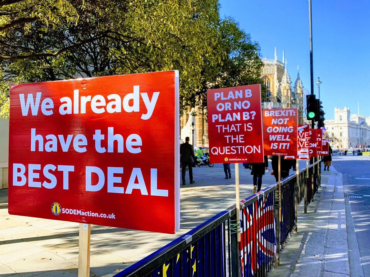 The UK and EU are attempting to reach an eleventh hour post-Brexit trade deal this week Courtesy of John Cameron