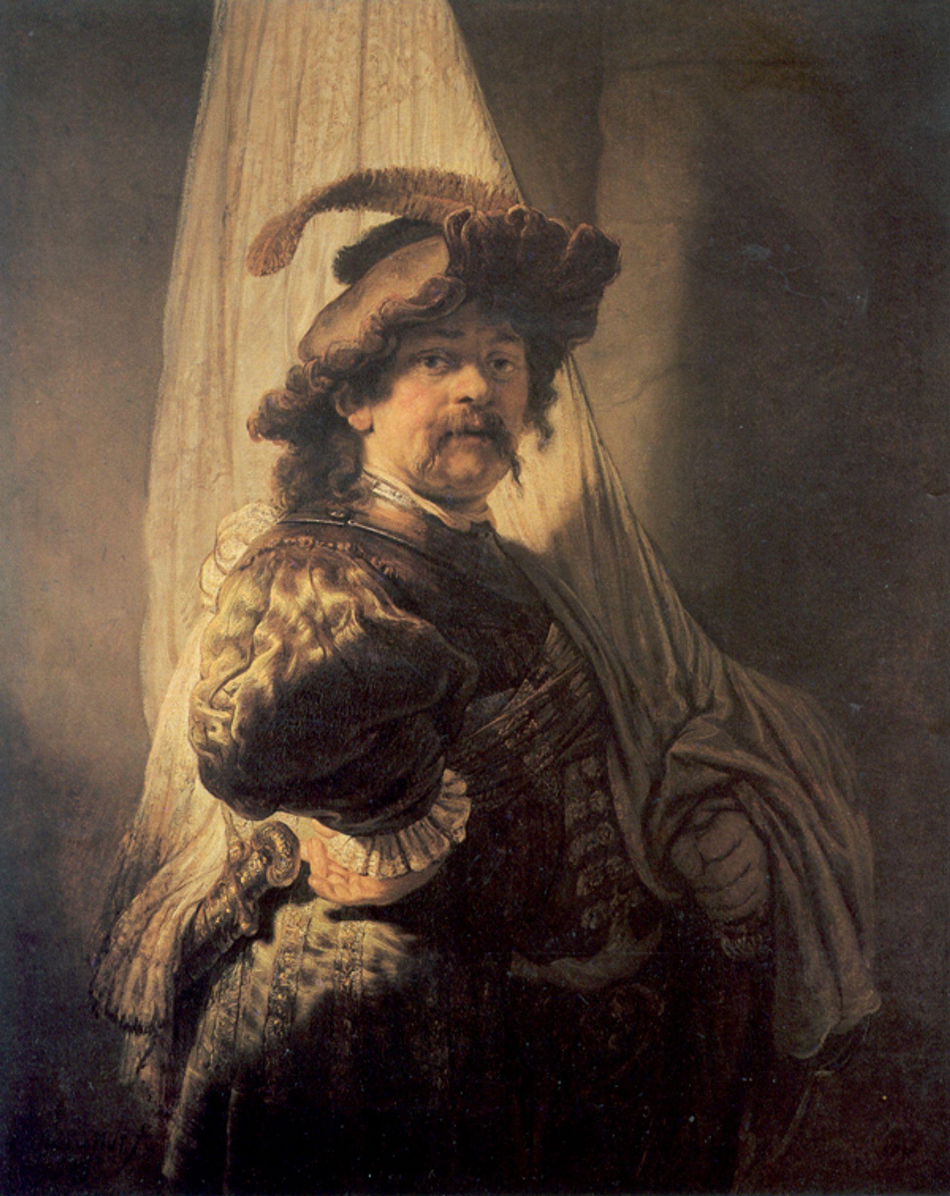 Rembrandt's The Standard Bearer (1636) Image via Wikicommons