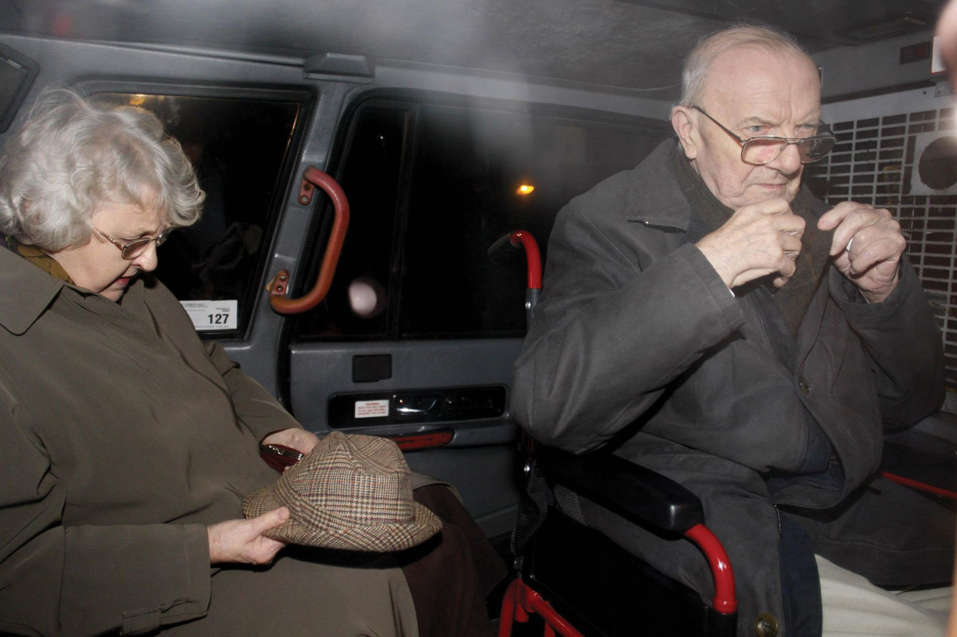 Olive and George Greenhalgh avoided going to prison for their part in an art fraud on account of their ages; their son was not so lucky Peter Byrne/PA Images/Alamy Stock Photo