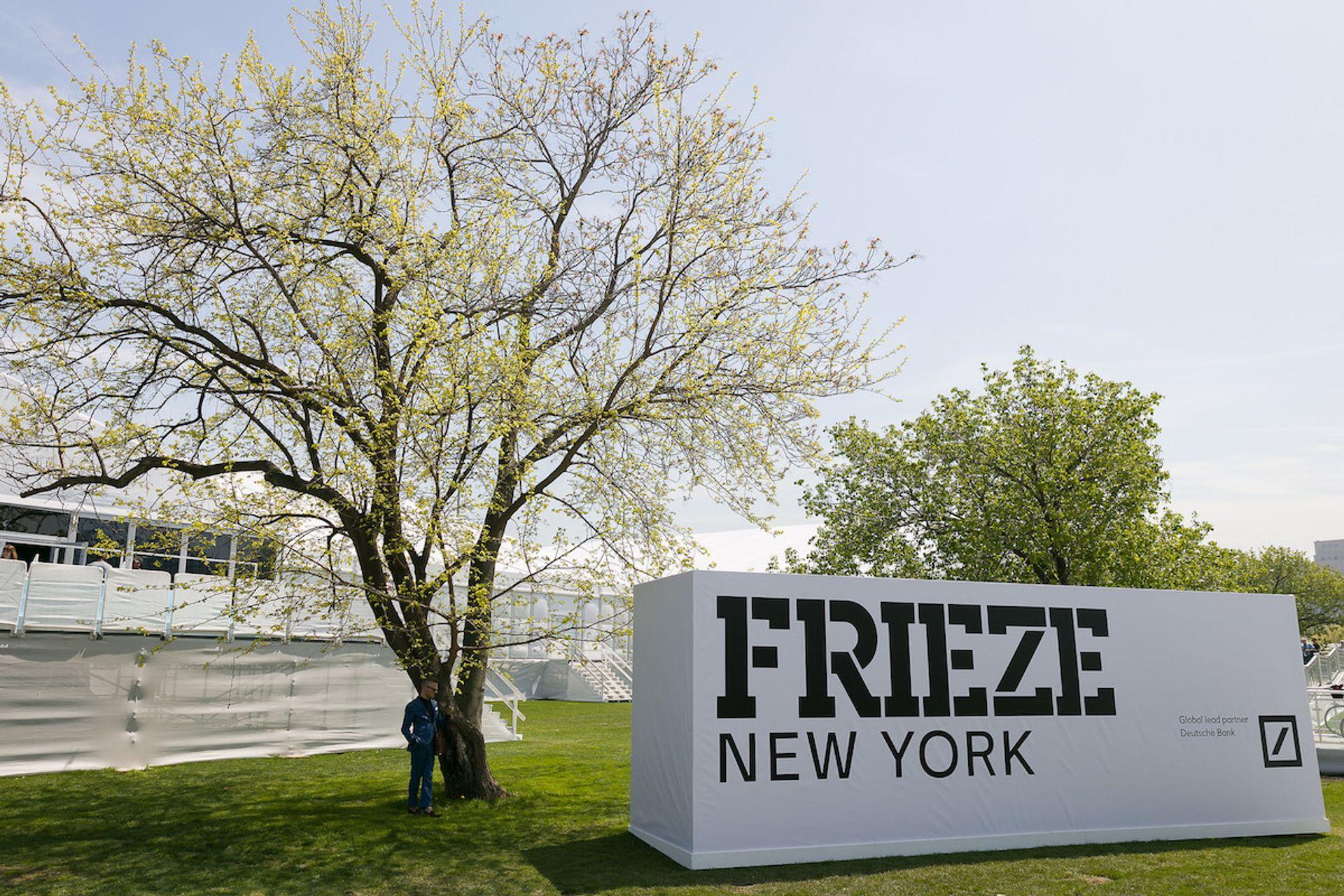 Frieze New York 2019. Courtesy of Mark Blower and Frieze.