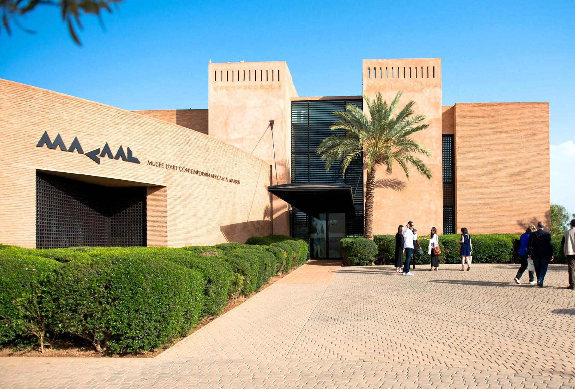 The Museum of African Contemporary Art Al Maaden in Marrakech Simo Drissi