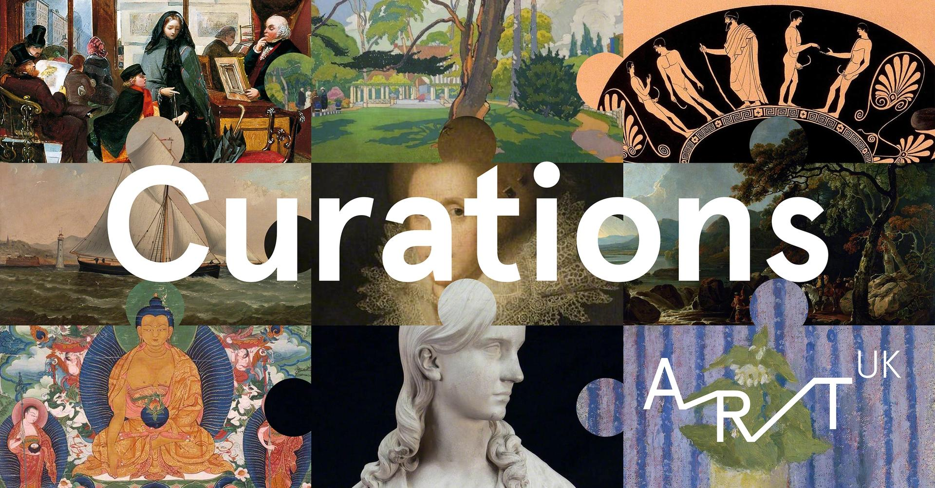 A new online tool called Curations allows institutions to mount virtual shows