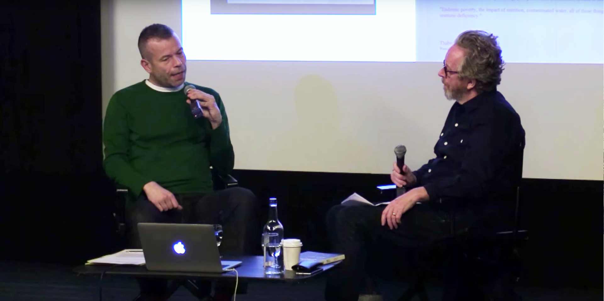 Wolfgang Tillmans in conversation with the writer and critic Sean O'Hagan  at London's ICA ICA