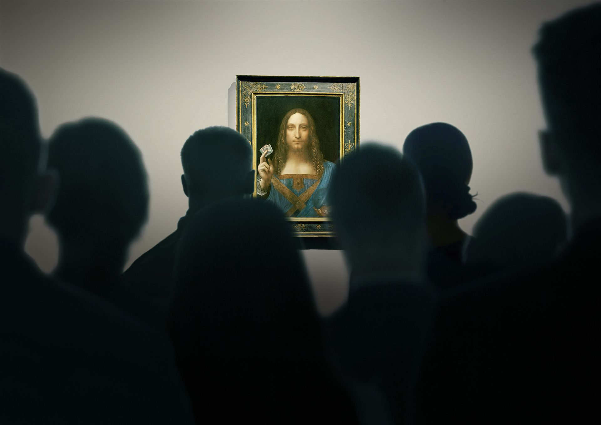 """The film, by the Danish director Andreas Koefoed, traces the painting's emergence as a """"sleeper"""" picture bought for $1,175 at a regional auction house in 2005 and follows it through to its record sale at Christie's © The Lost Leonardo. Courtesy of Sony Pictures Classics"""