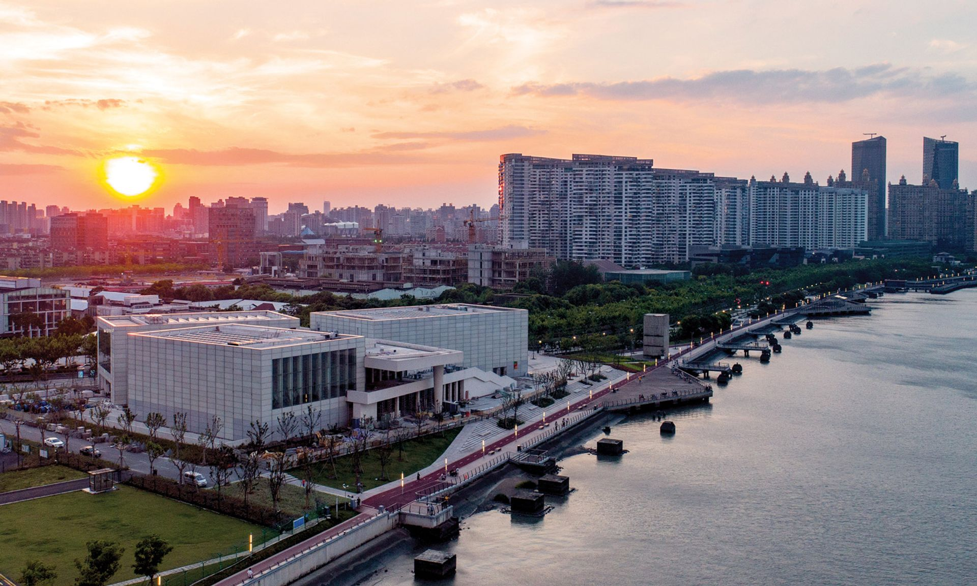 The new Centre Pompidou x West Bund Museum opened in Shanghai for an initial five-year period © Aki / West Bund Museum