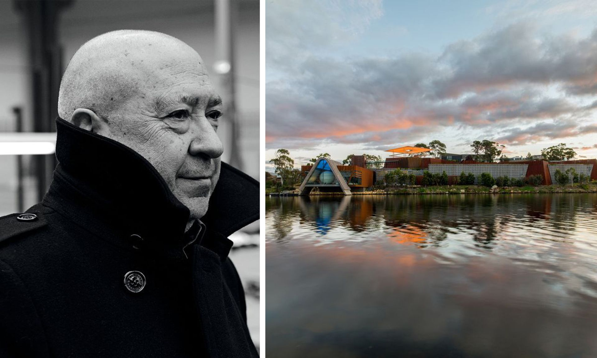 Christian Boltanski created the work for the Museum of Old and New Art in Hobart, Tasmania Boltanski: © Didier Plowy, courtesy of Marian Goodman Gallery; Mona: © Mona/Jesse Hunniford; courtesy of MONA, Museum of Old and New Art