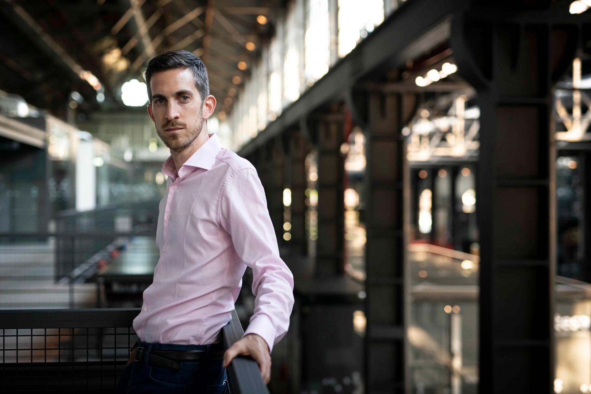 Nicola Ricciardi, Miart's new director © Giorgio Perottino. Getty Images