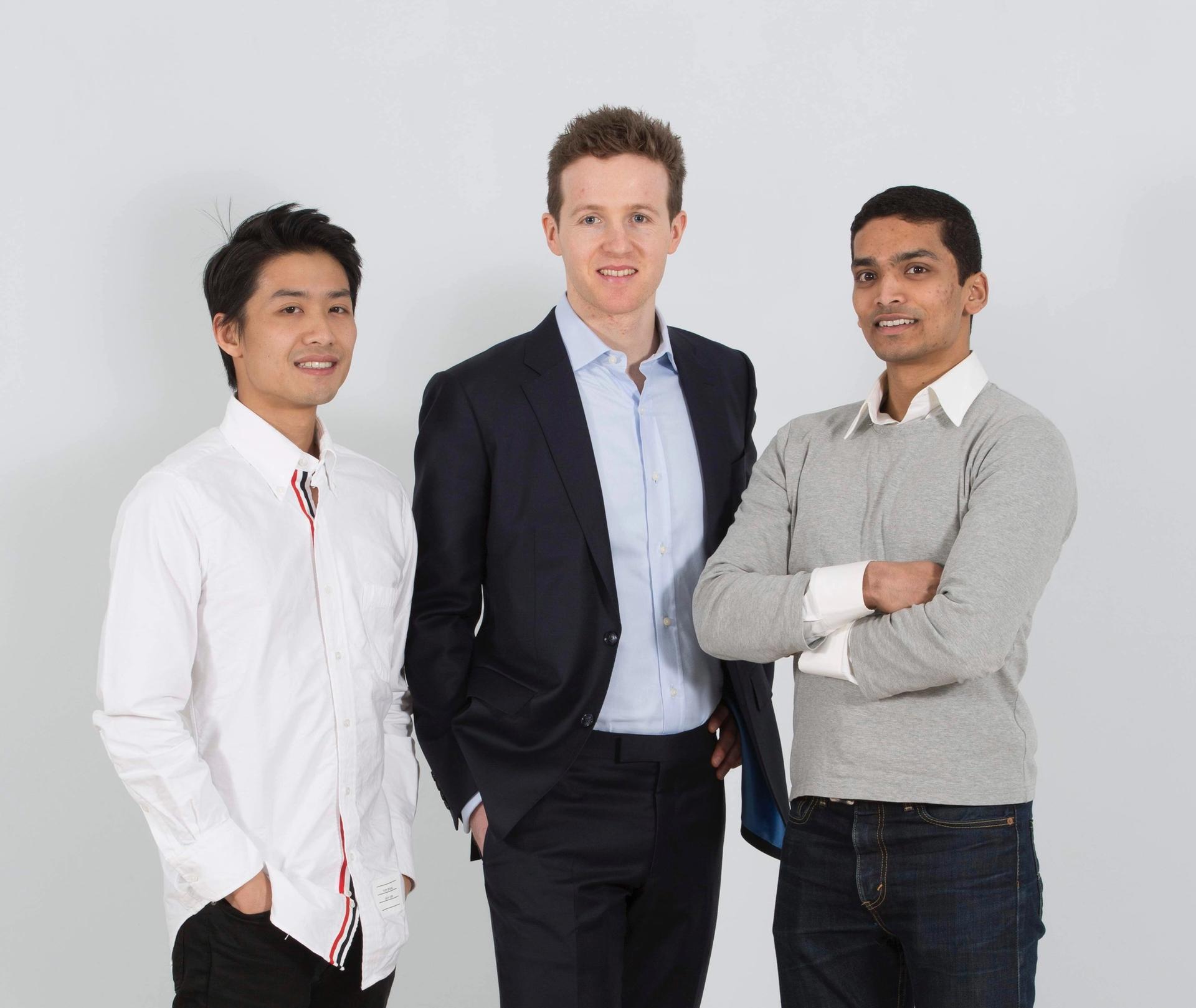 Andrew Shum, Richard Vibert and Ahmad Qamar Sotheby's