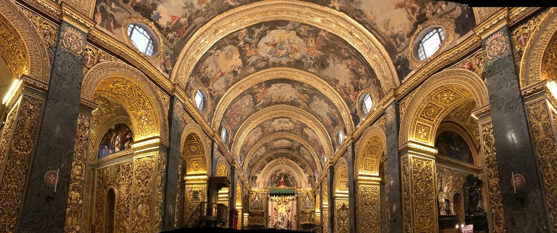 St John's Co-Cathedral in Valletta, Malta Photo: Claudia Schillinger