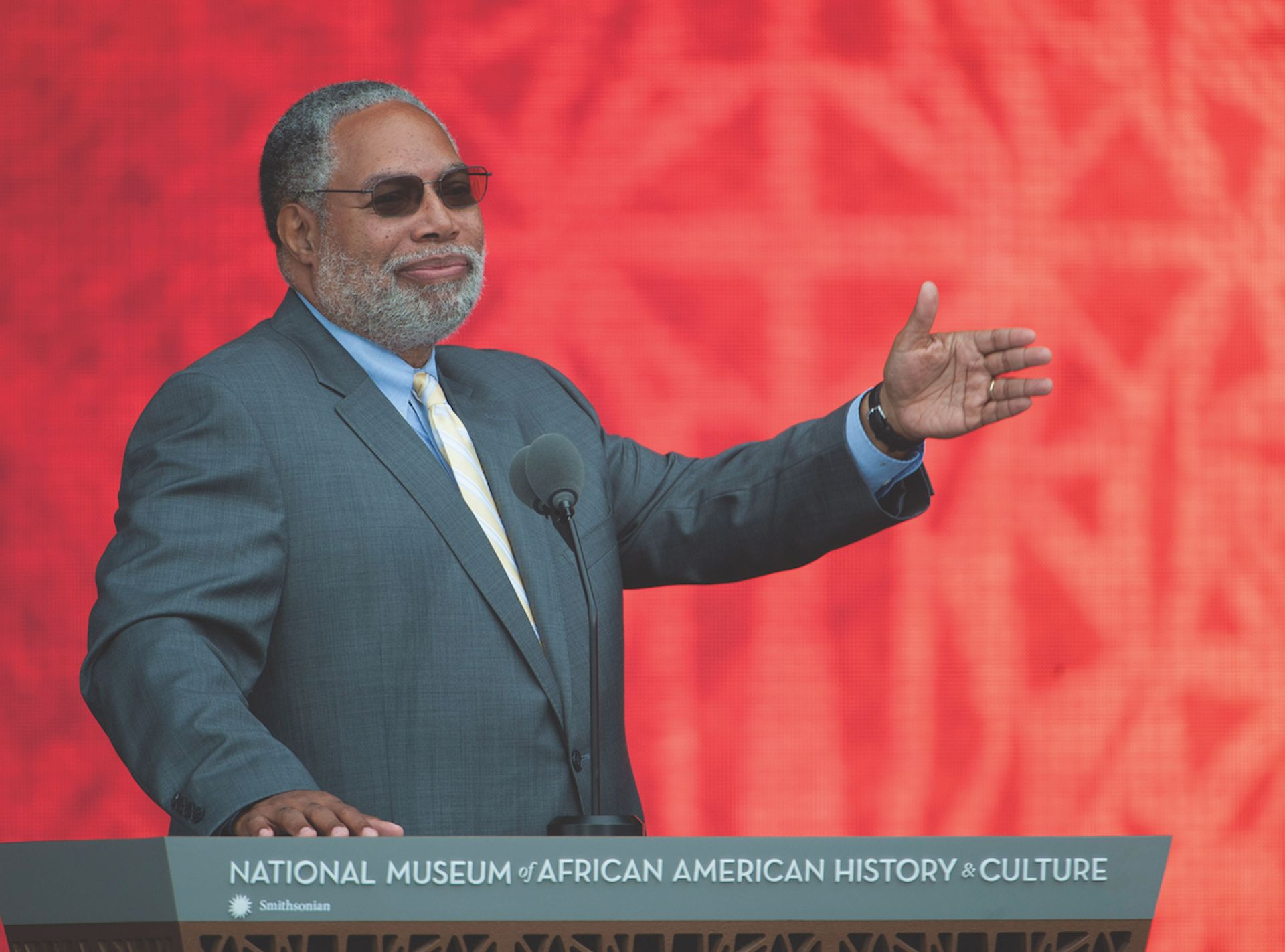 """Lonnie G. Bunch III, """"finding the tension between tradition and innovation"""" Leah L. Jones"""