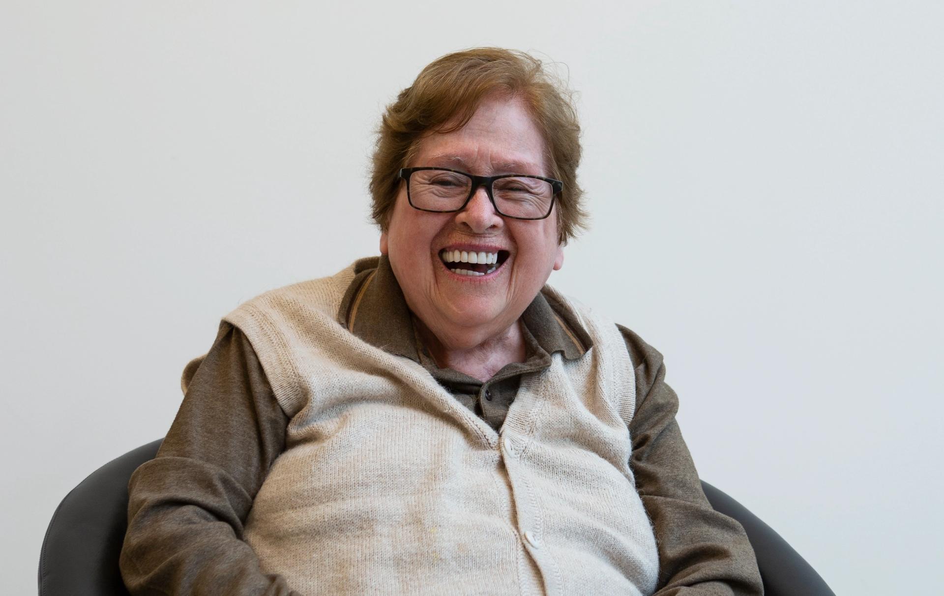 Teresa Burga in 2019 Photo: Ross Collab