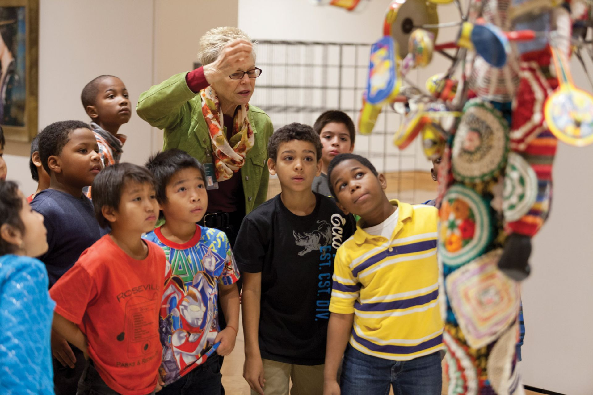 Museum leadership rarely reflects actual demographics. Above, children at the Minneapolis Institute of Art 013 Minneapolis Institute of Arts