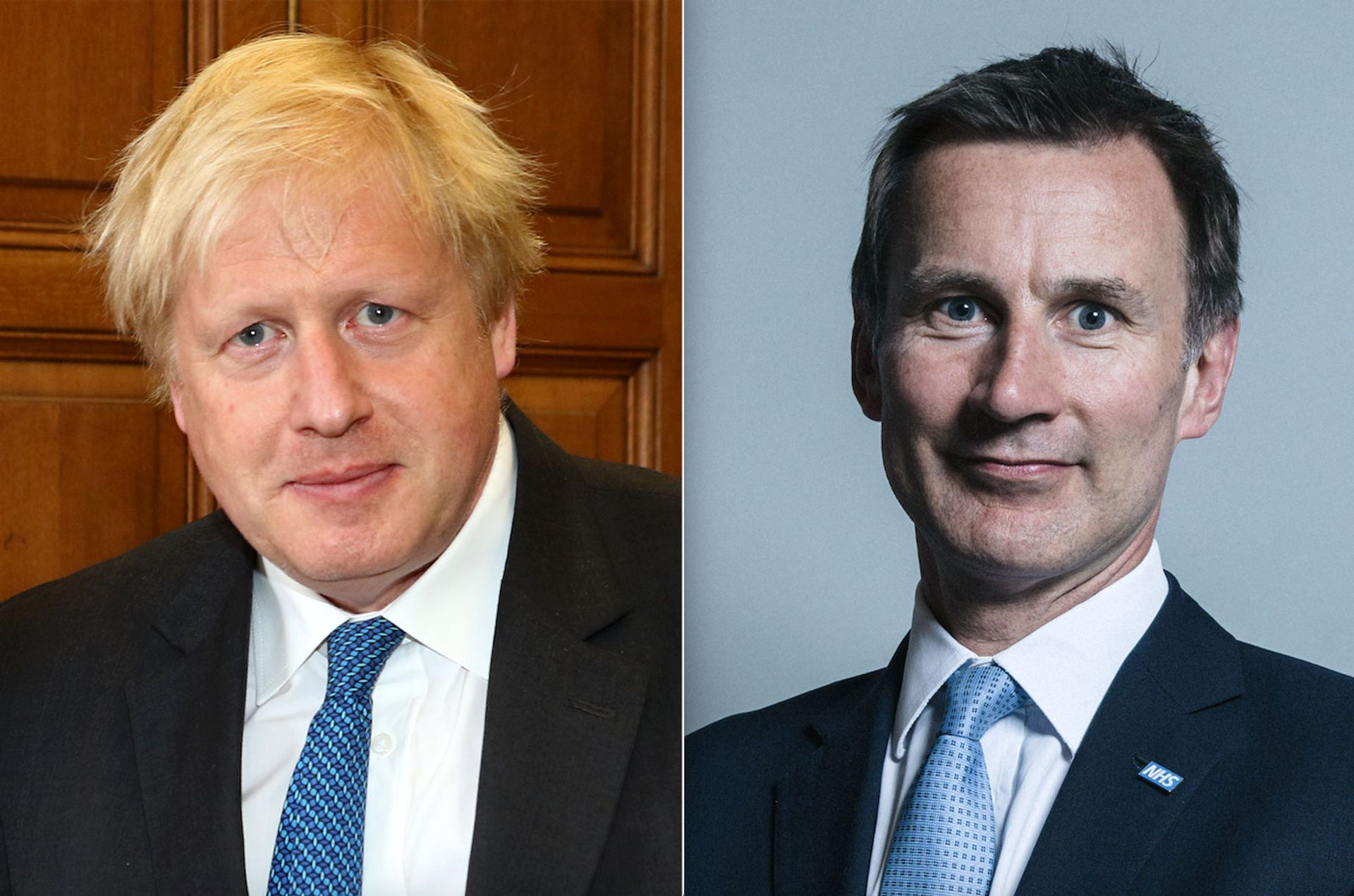 Boris Johnson and Jeremy Hunt cc Foreign and Commonwealth Office. cc Chris McAndrew