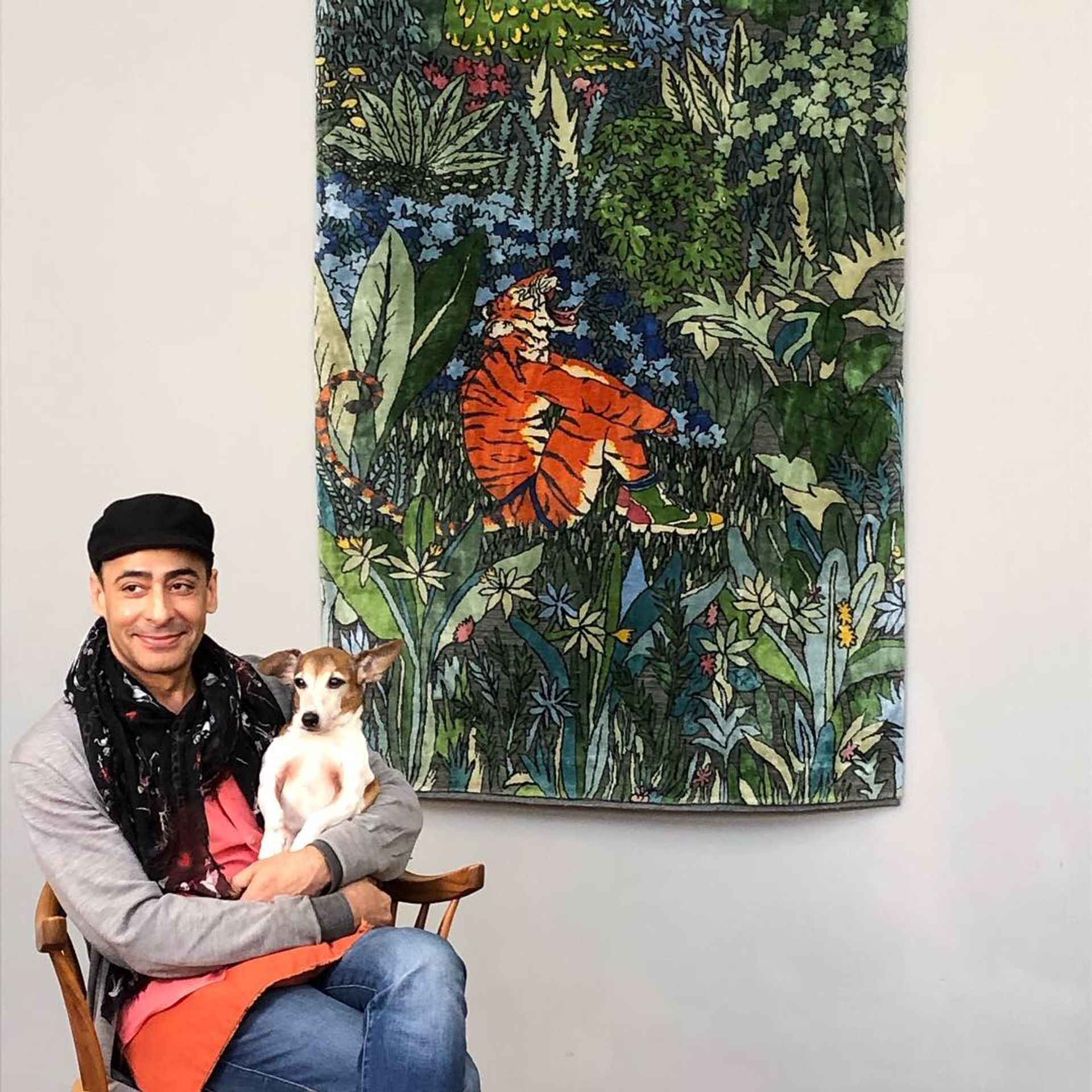 Ode to the Tigers of Bandhavgarh by Raqib Shaw (£25,000) Courtesy the Artist and White Cube