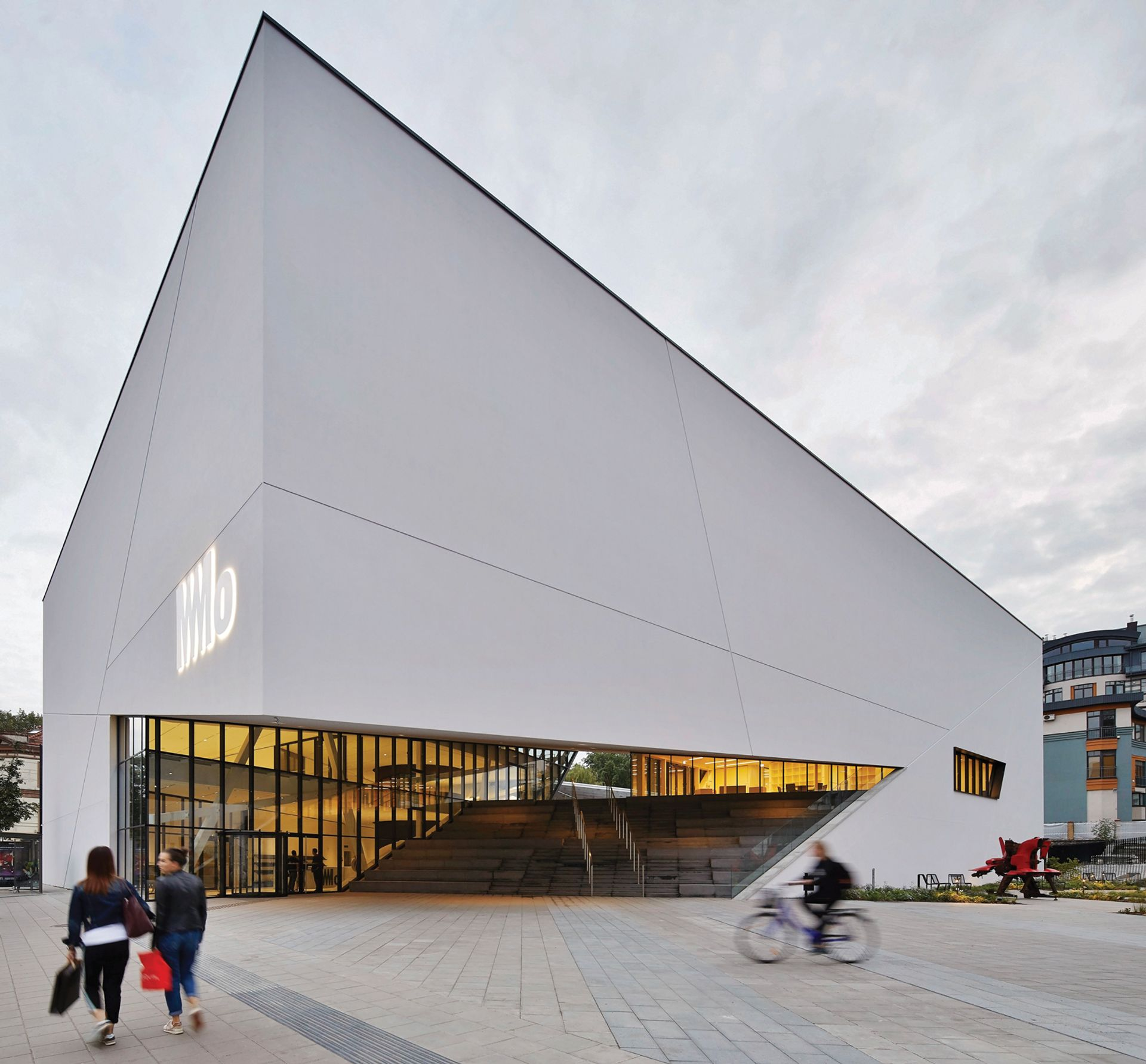 The €15m MO Museum was designed by Daniel Libeskind © Hufton + Crow
