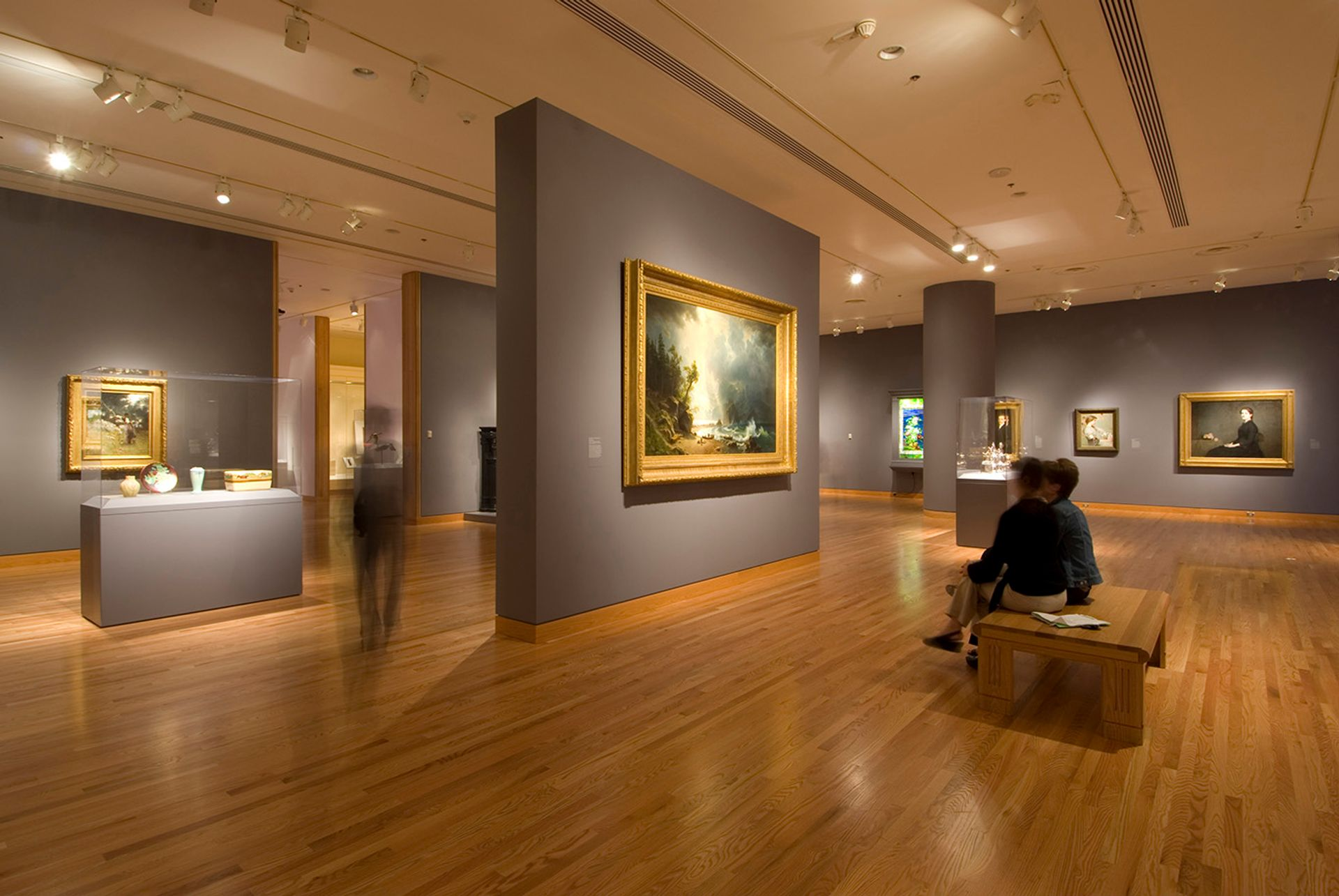 The Seattle Art Museum's American galleries, described by their curator as presenting a limited view of art history Tim Aguero