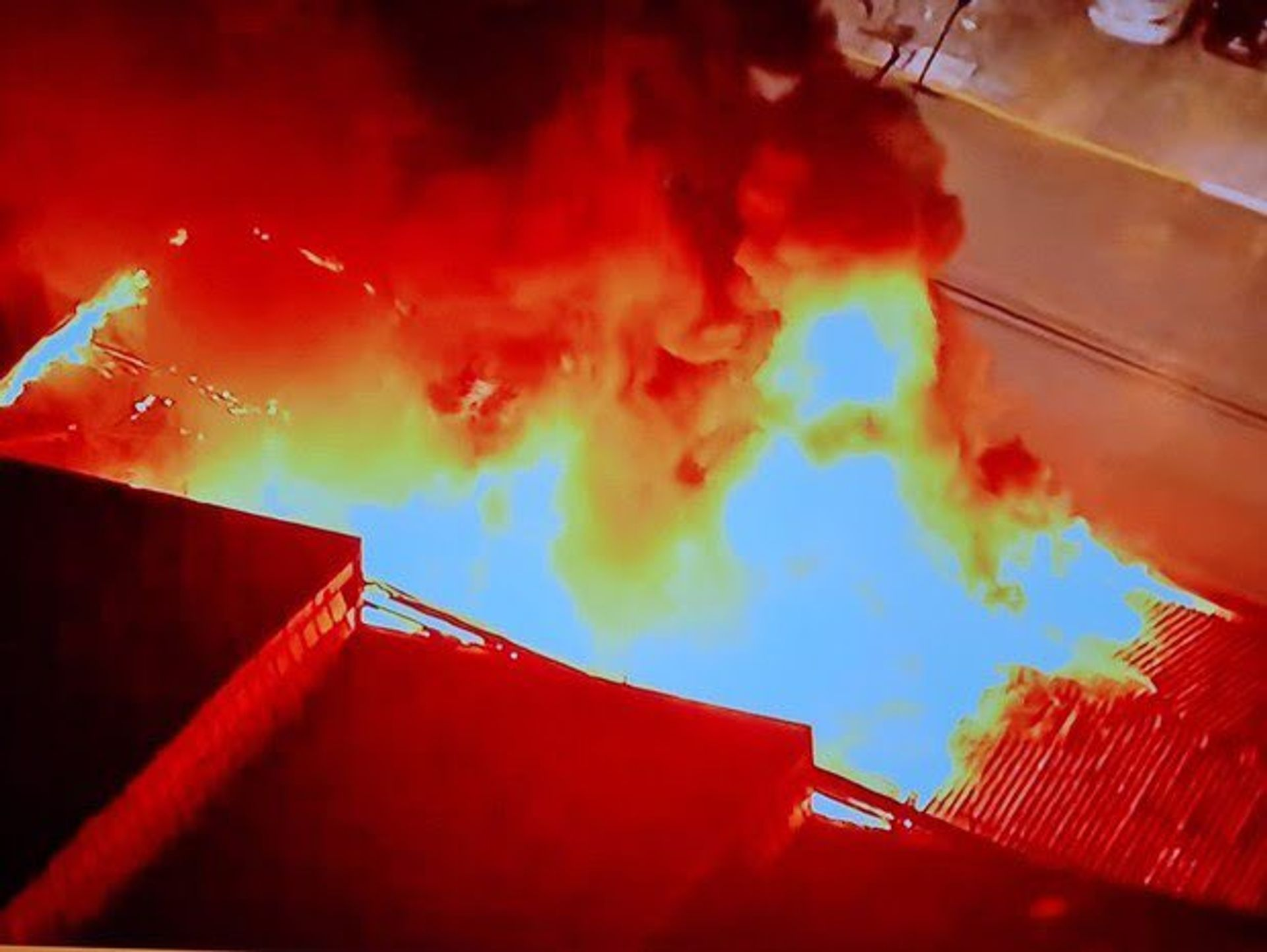 A warehouse of the Cinemateca Brasileira caught fire on the evening of 29 July Arte1
