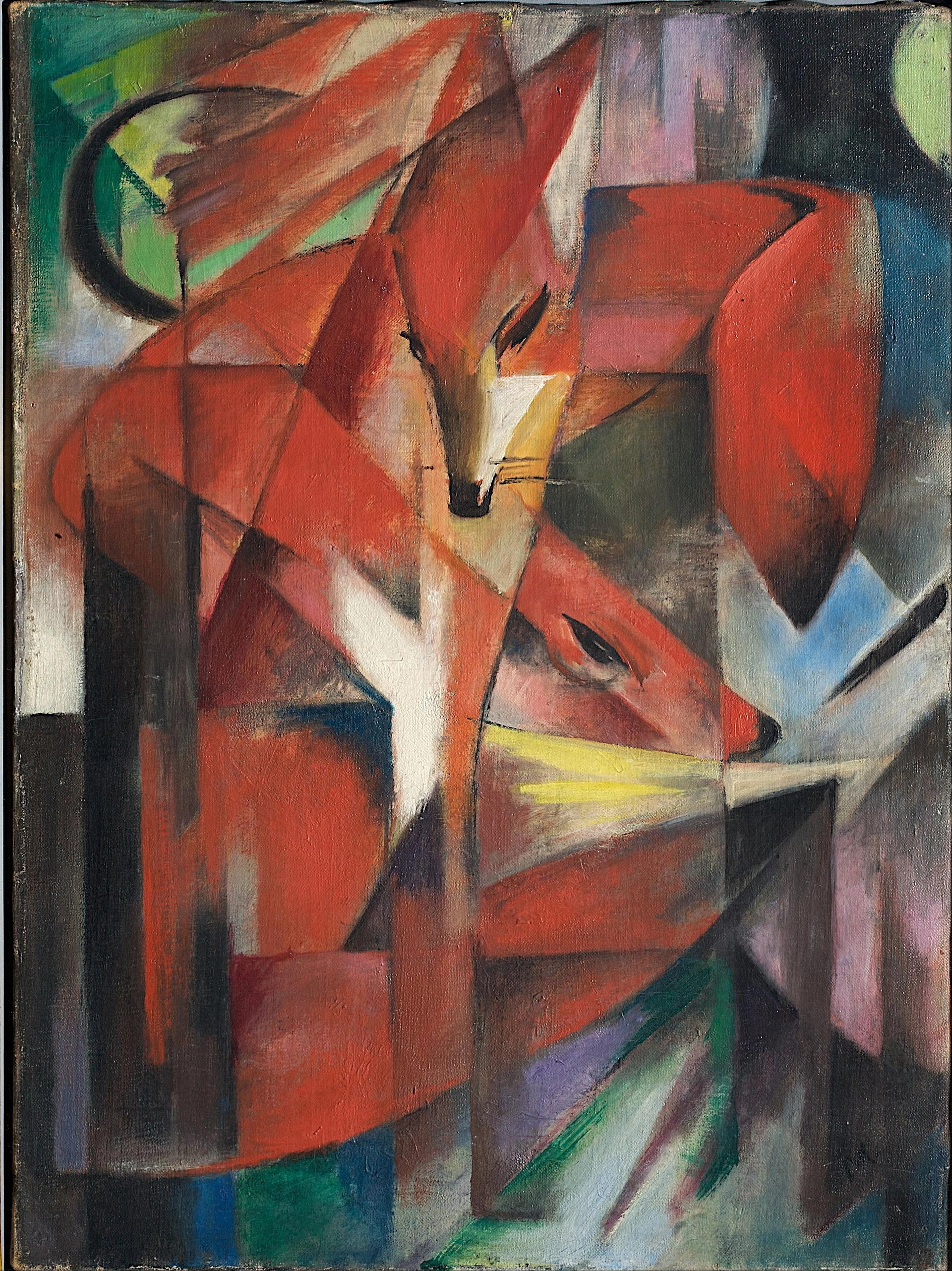 Franz Marc's Foxes (1913) is estimated to be worth between €15m-€30m