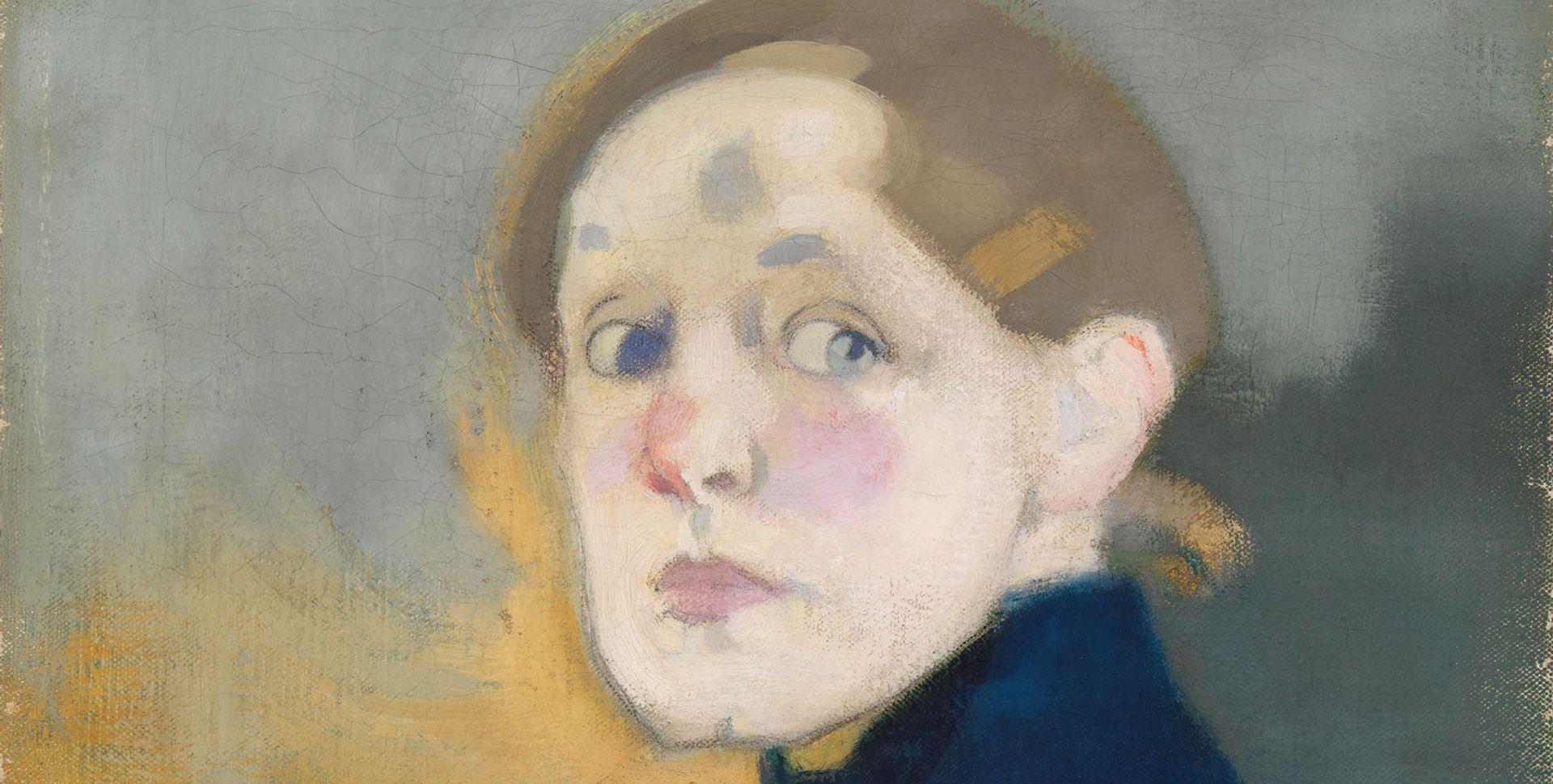 Helene Schjerfbeck's Self-portrait (1912) © Finnish National Gallery, Ateneum Art Museum; Photo: Yehia Eweis