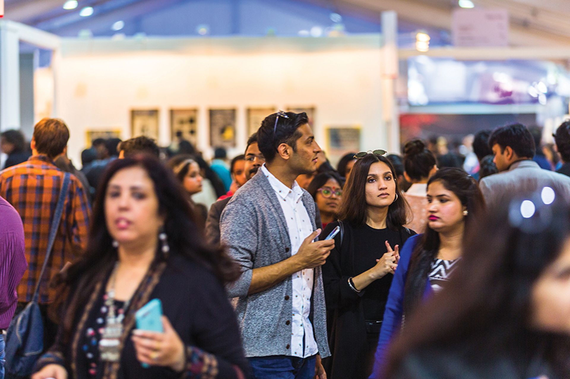 India Art Fair 2017 © Andy Barnham